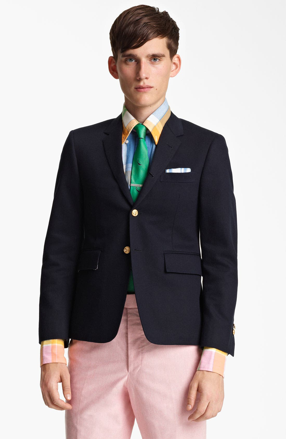 Alternate Image 1 Selected - Thom Browne Classic Three-Button Blazer