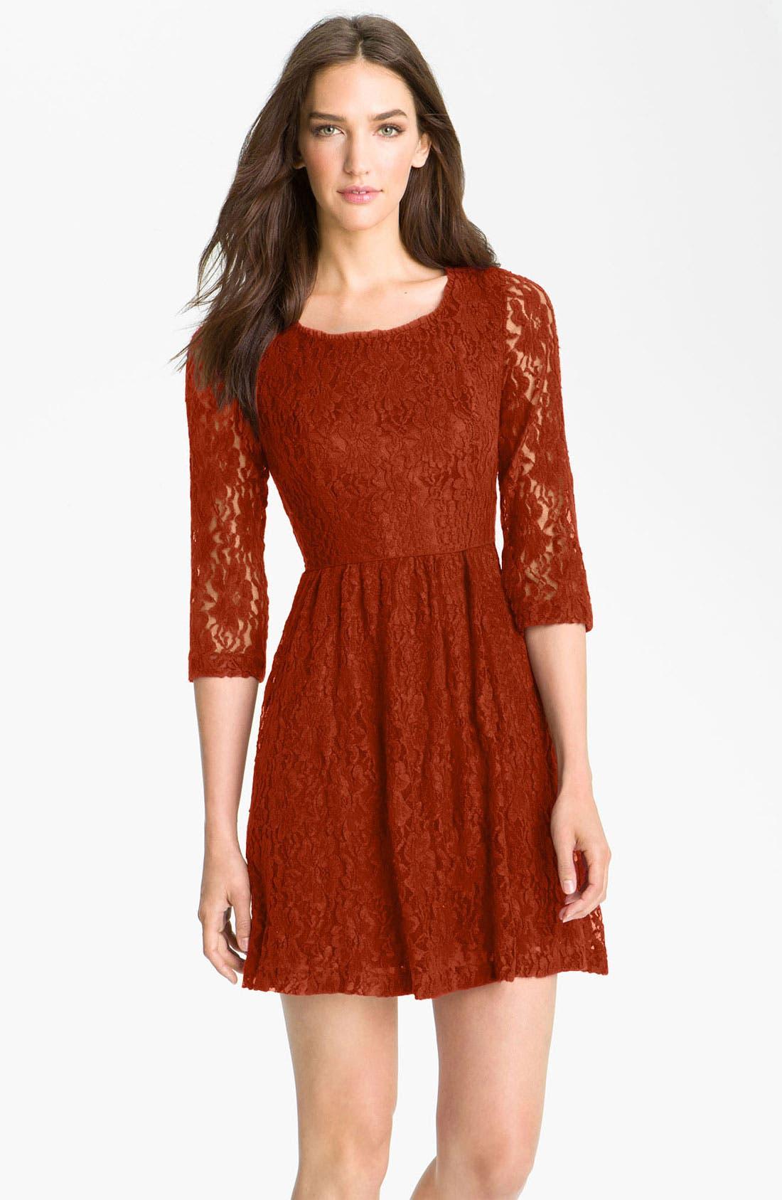 Alternate Image 1 Selected - Kensie Lace Dress