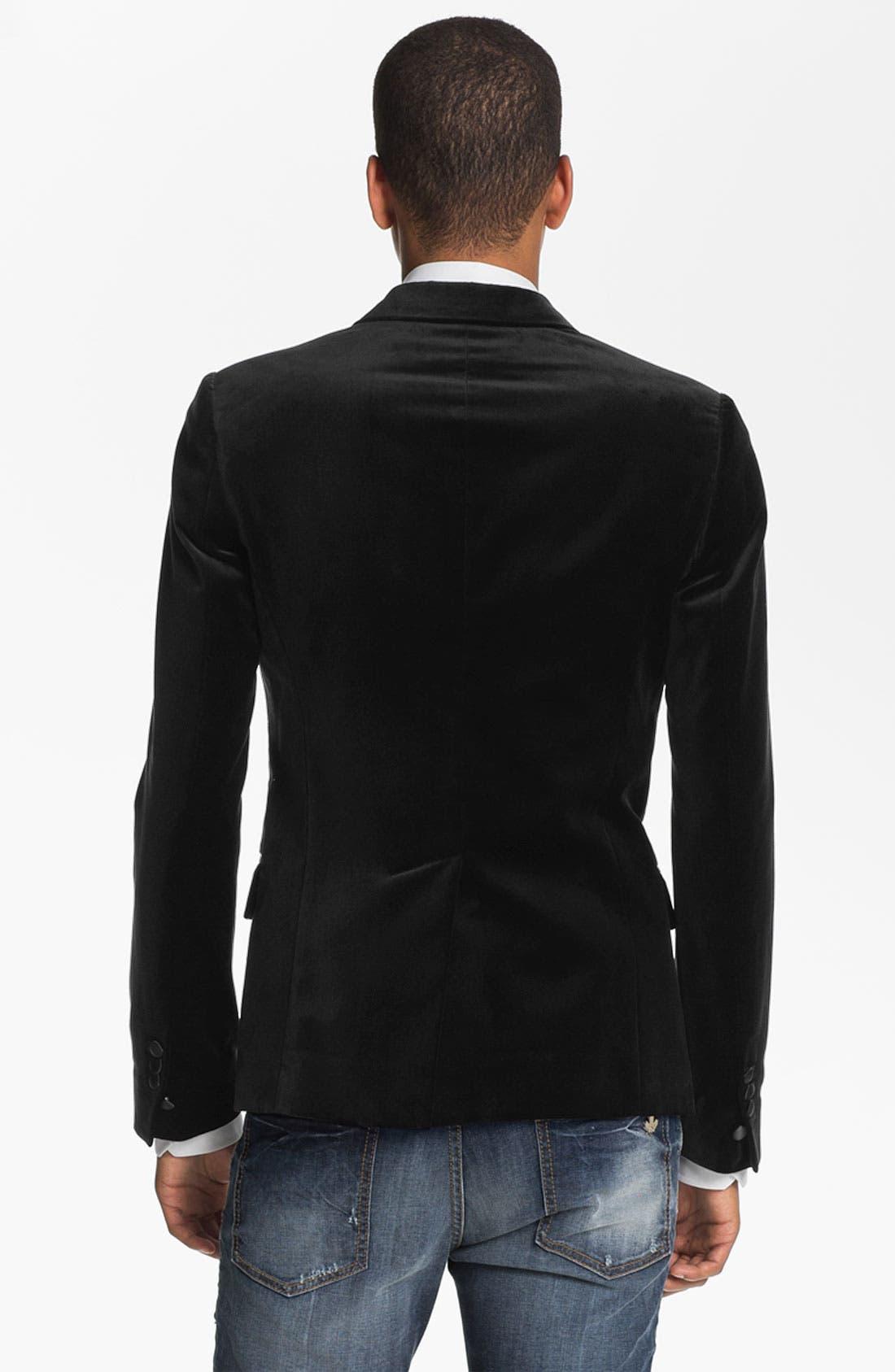 Alternate Image 2  - Dsquared2 One Button Tuxedo Jacket