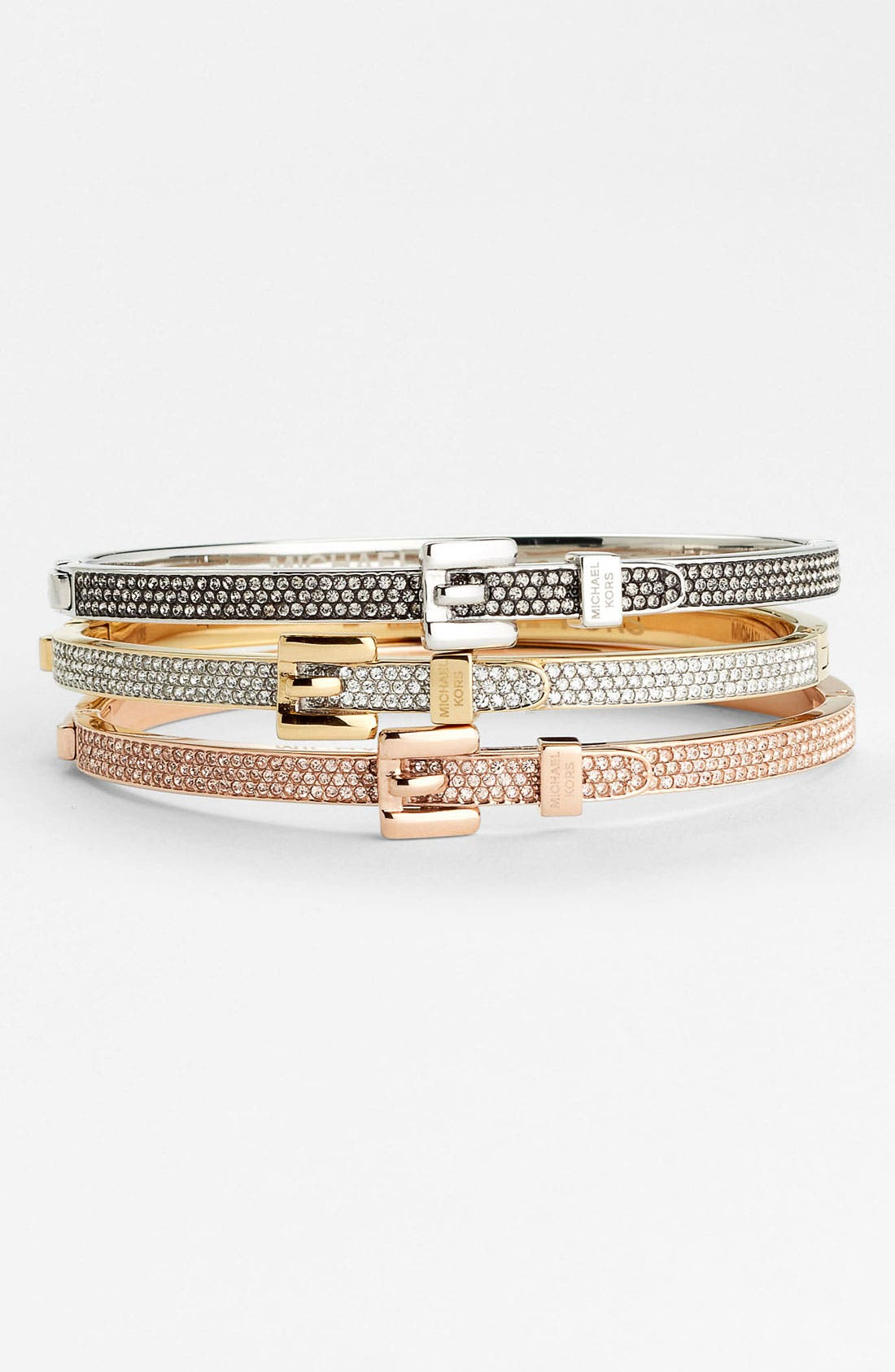 Main Image - Michael Kors 'Brilliance' Hinged Bangle