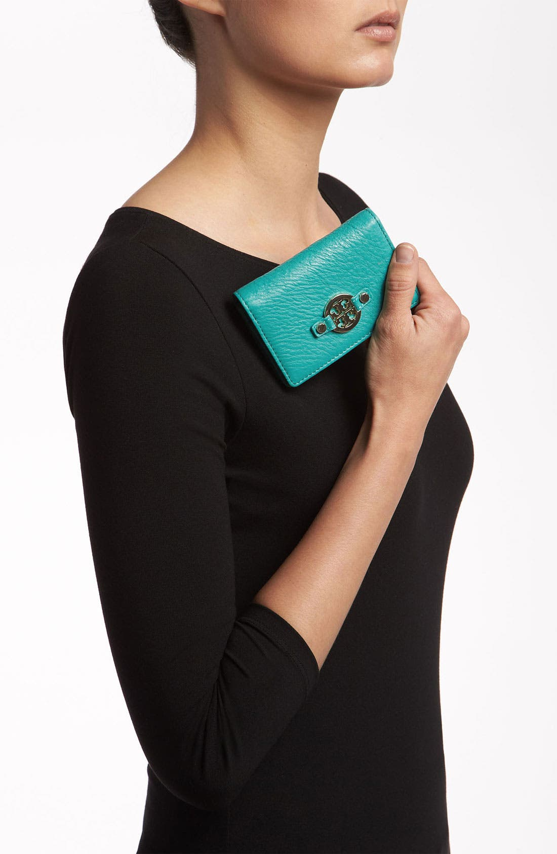 Alternate Image 2  - Tory Burch 'Amanda' Foldable Card Case