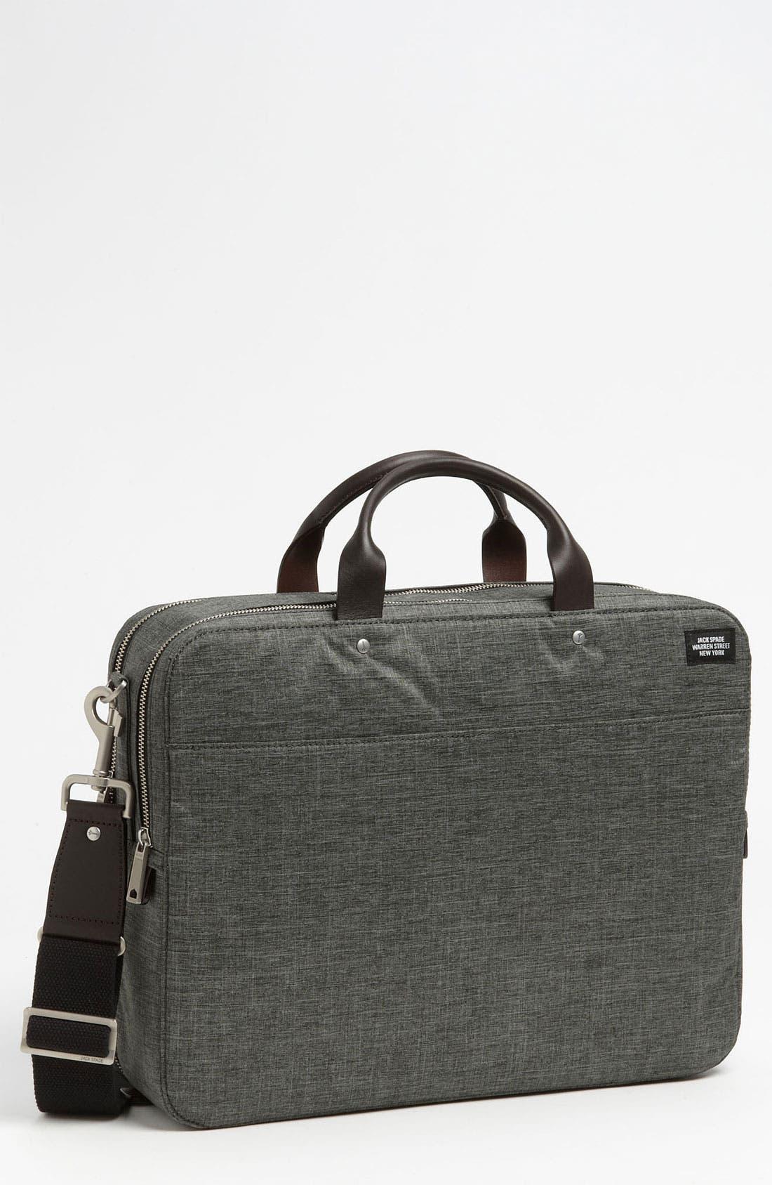 Alternate Image 1 Selected - Jack Spade Laptop Briefcase (15 Inch)
