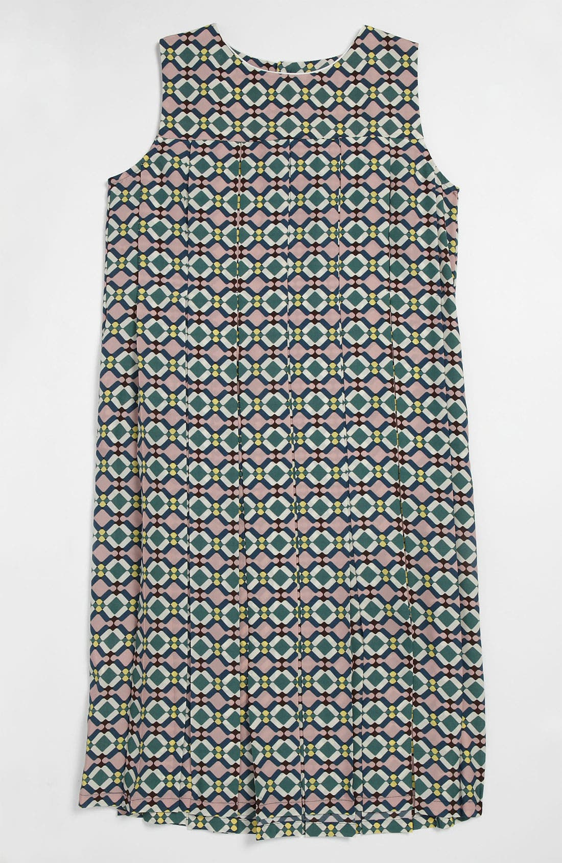 Main Image - Marni Print Pleat Dress (Little Girls & Big Girls)