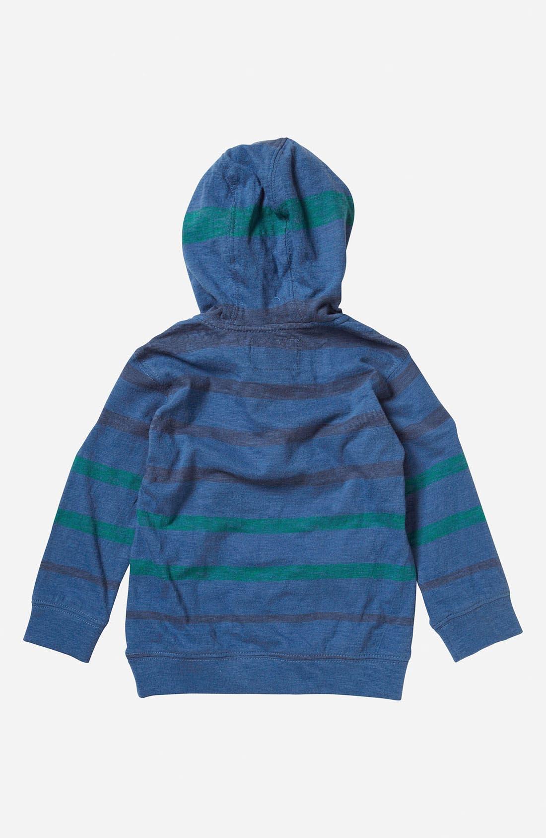 Alternate Image 2  - Quiksilver 'Merz' Hooded Henley Top (Infant)