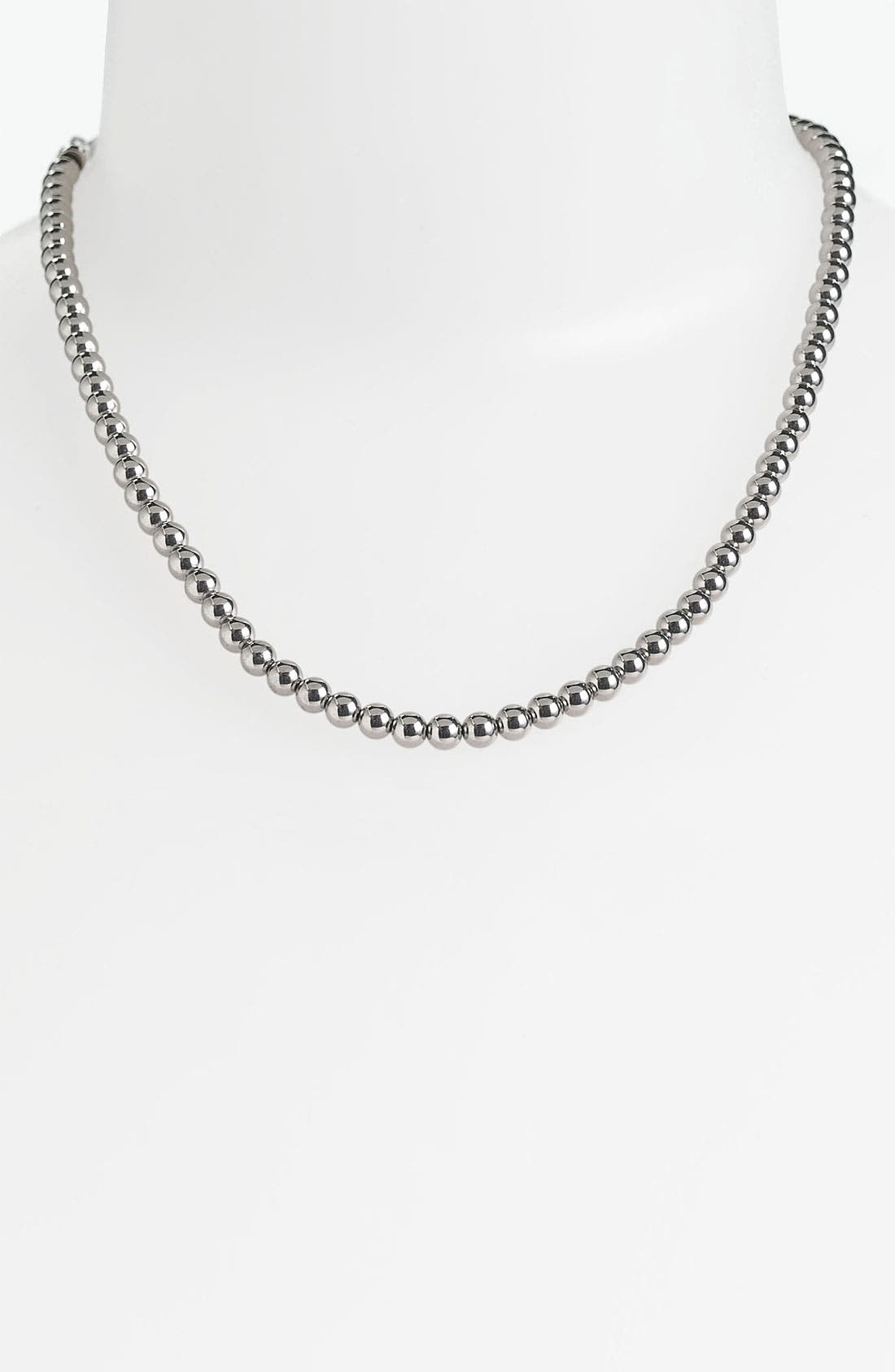 Alternate Image 1 Selected - Michael Kors 'Classics' Beaded Necklace