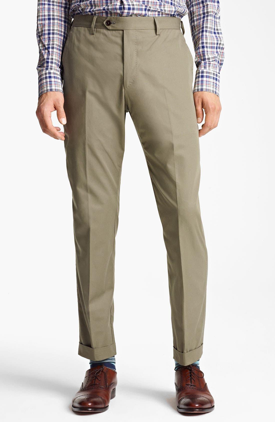 Alternate Image 4  - Paul Smith London Slim Fit Cotton Suit