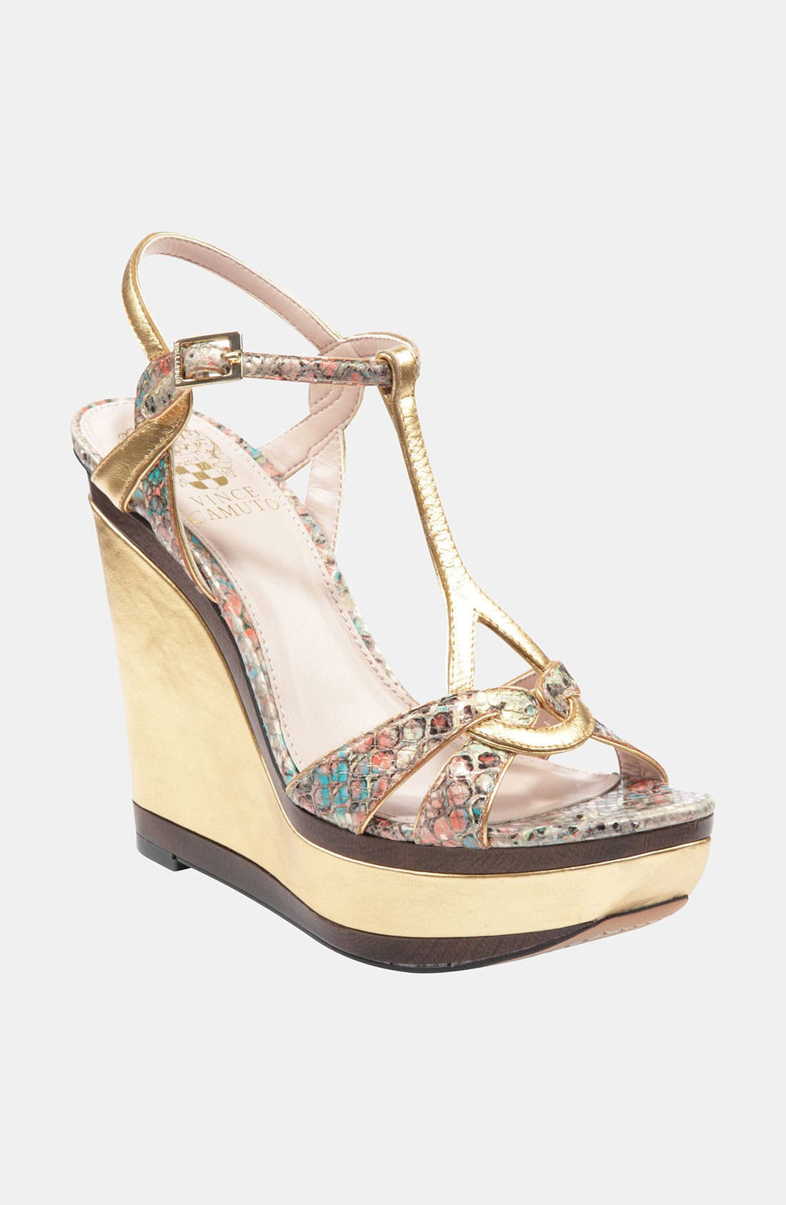 Alternate Image 1 Selected - Vince Camuto 'Casidy' Wedge Sandal (Online Exclusive)