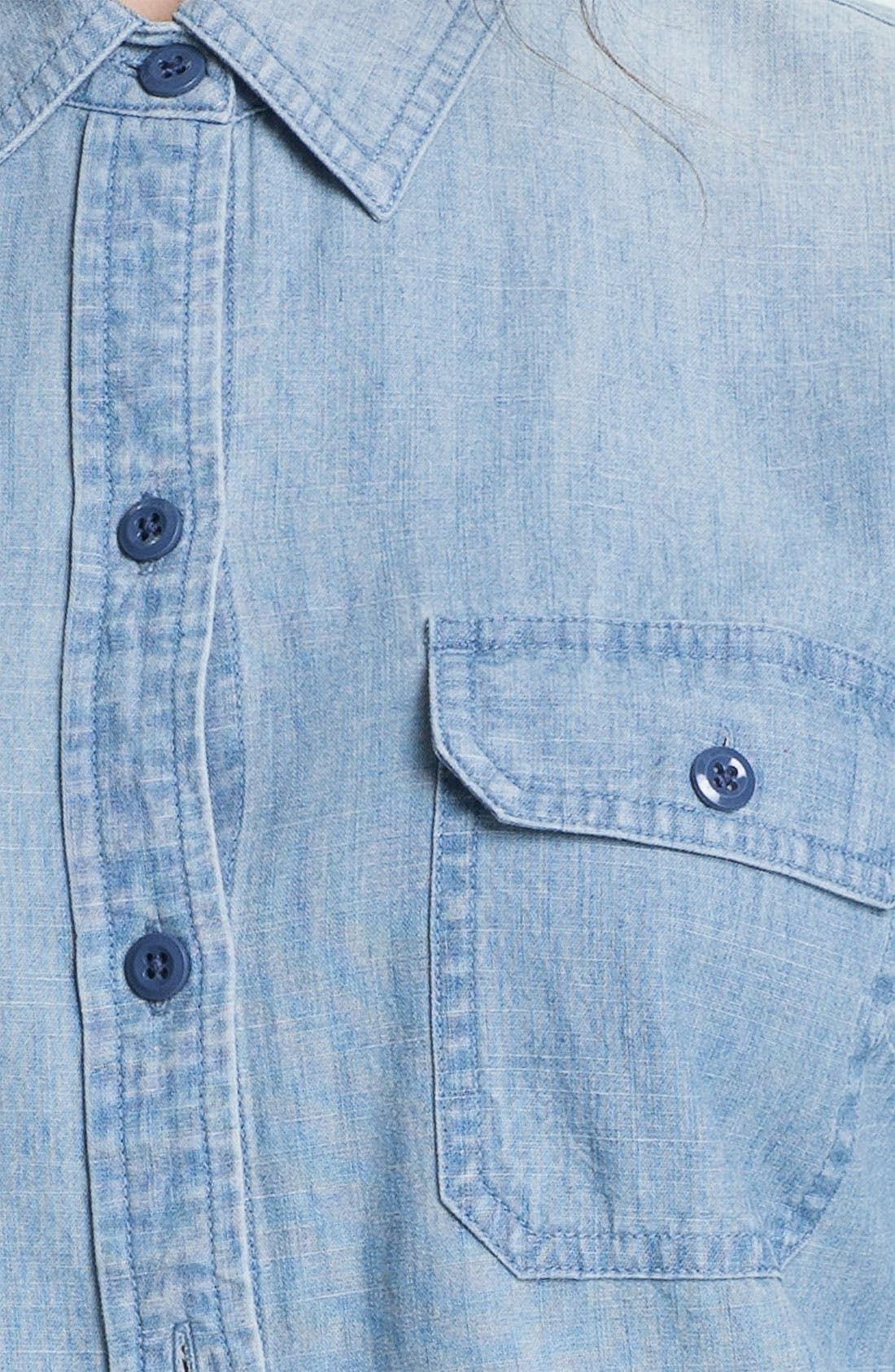Alternate Image 3  - Lucky Brand 'Brooke' Chambray Shirt