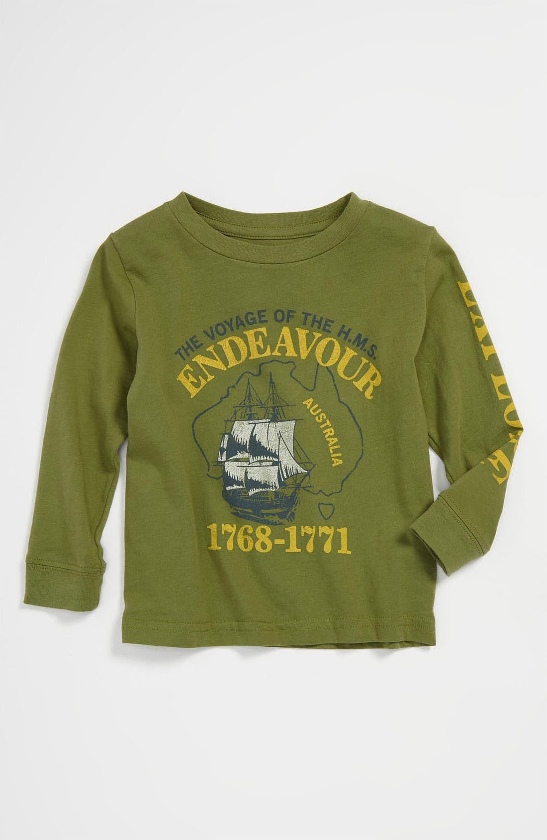 Alternate Image 1 Selected - Peek 'Endeavor' T-Shirt (Infant)
