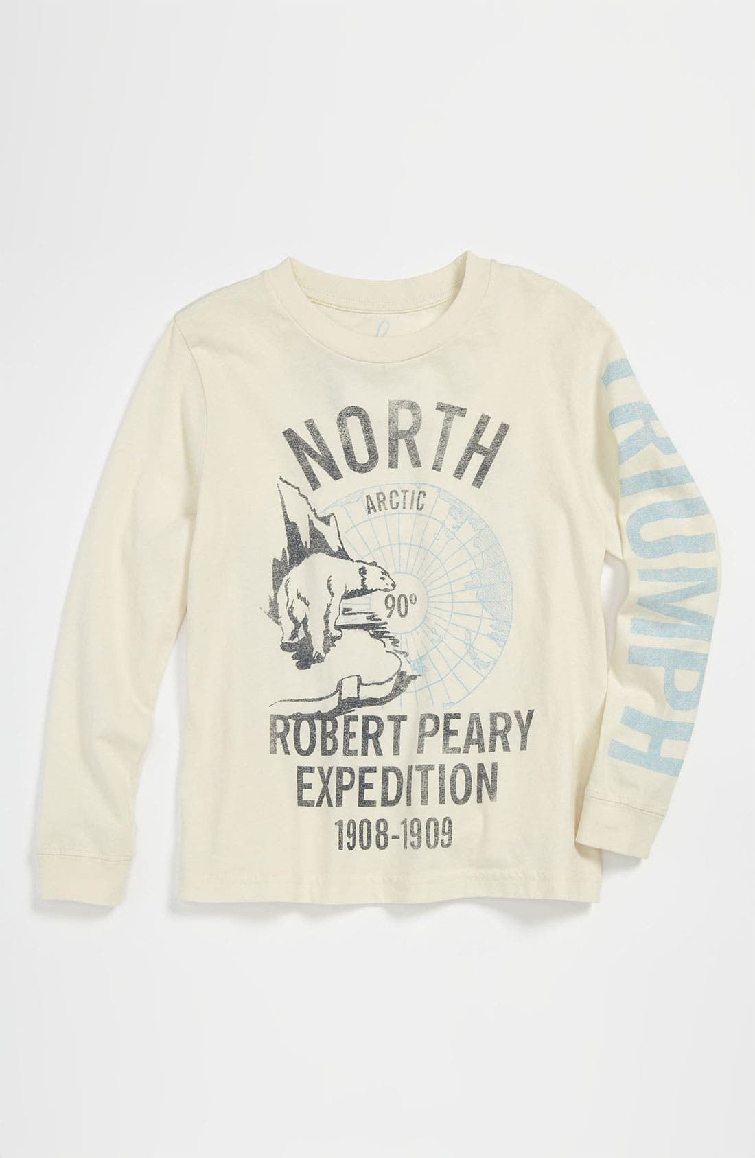 Alternate Image 1 Selected - Peek 'North Pole' T-Shirt (Toddler, Little Boys & Big Boys)