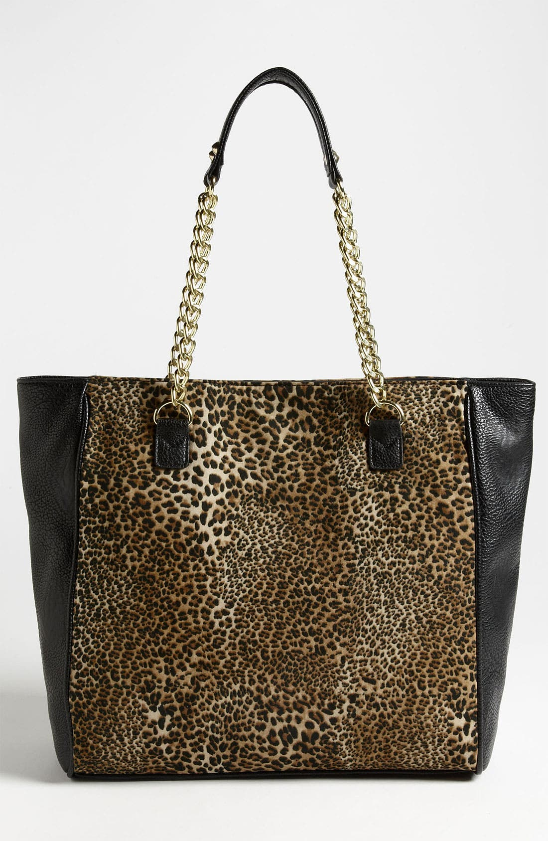Alternate Image 4  - Betsey Johnson Mixed Cheetah Print Tote