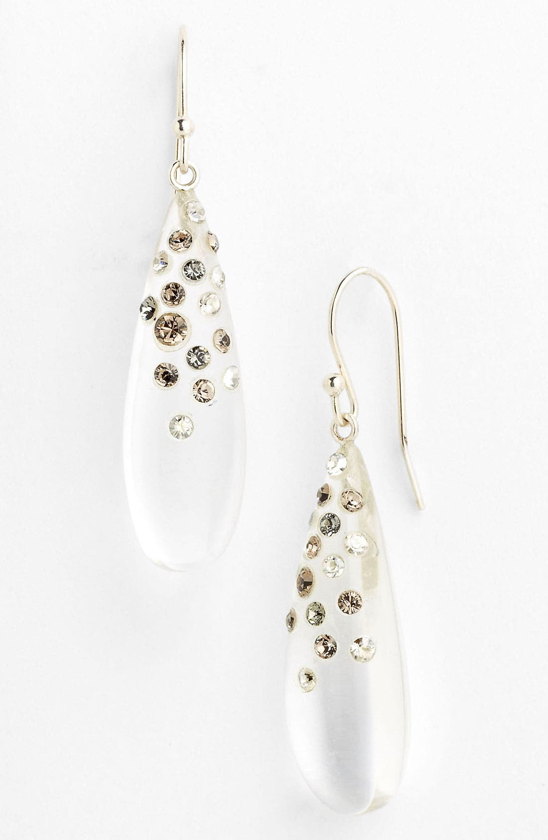 Alternate Image 1 Selected - Alexis Bittar 'Dust' Long Raindrop Earrings (Nordstrom Exclusive)