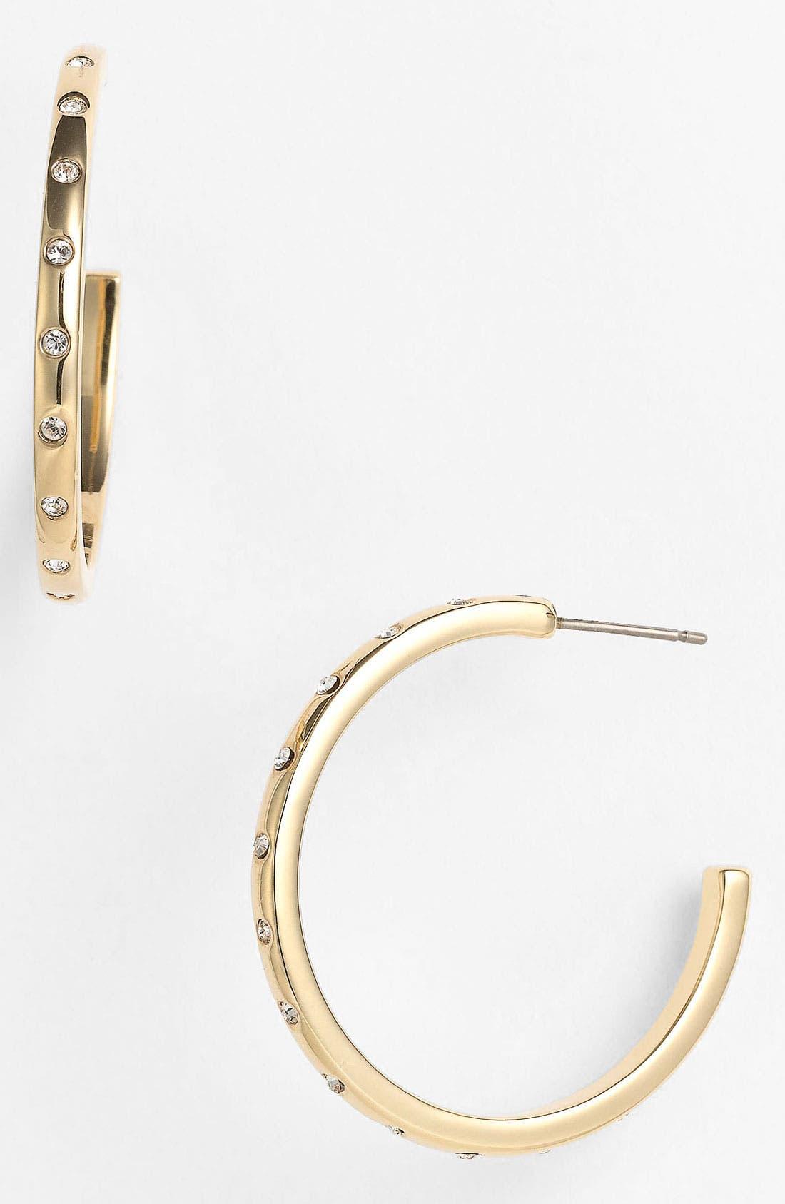 Main Image - Tory Burch 'McCoy' Hoop Earrings