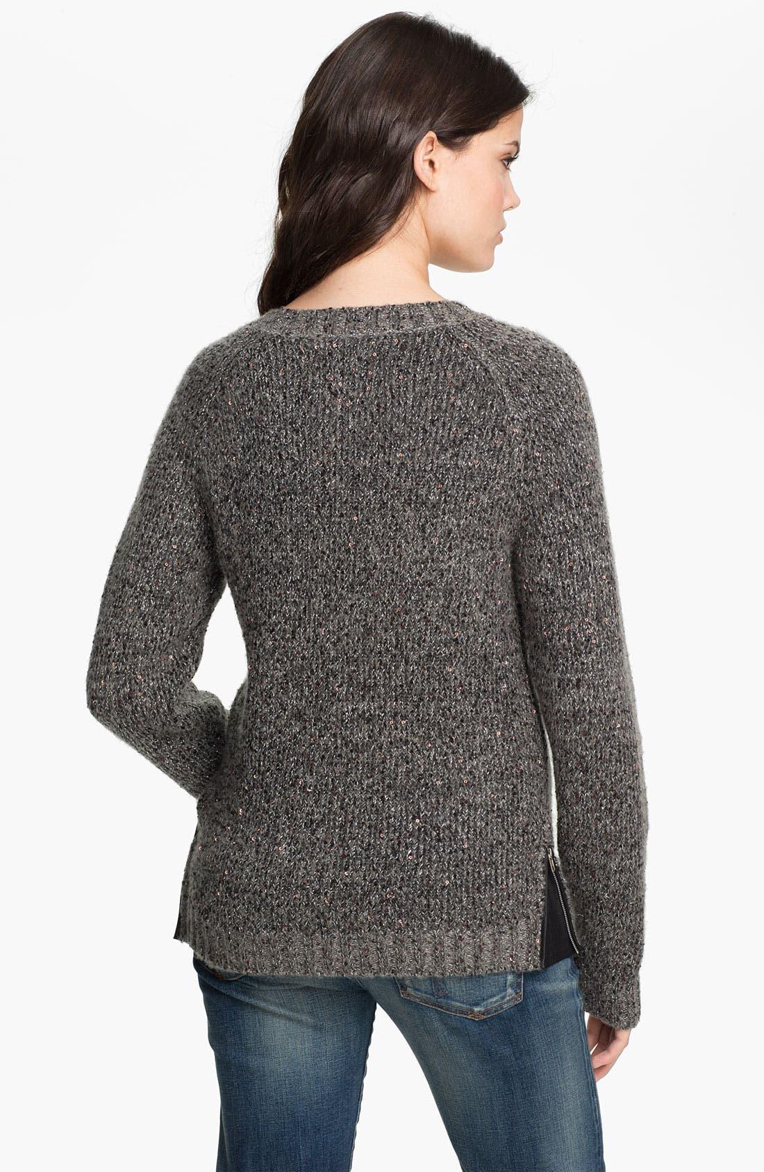 Alternate Image 2  - Maison Scotch Sequin Sweater