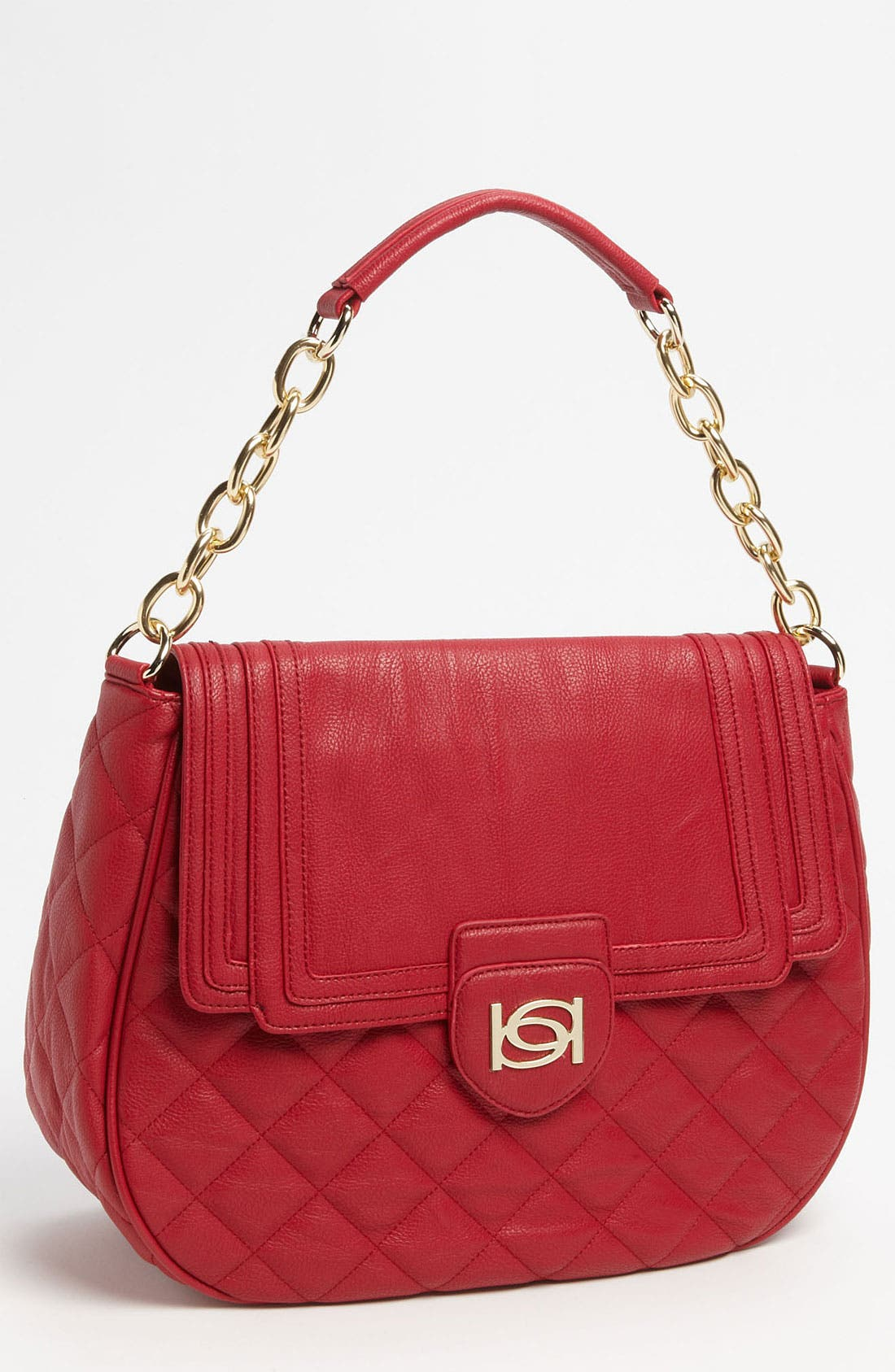Main Image - bebe 'Diandra' Quilted Hobo