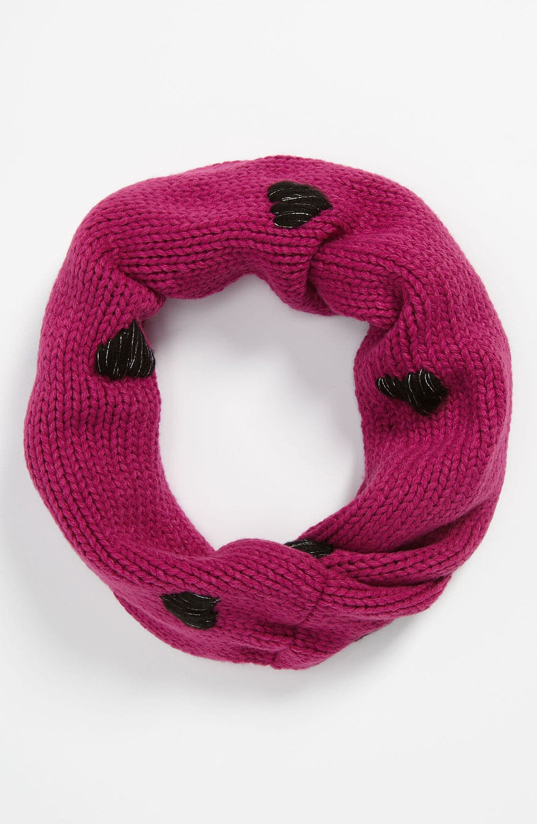 Main Image - Peace of Cake 'Heart' Infinity Scarf (Girls)
