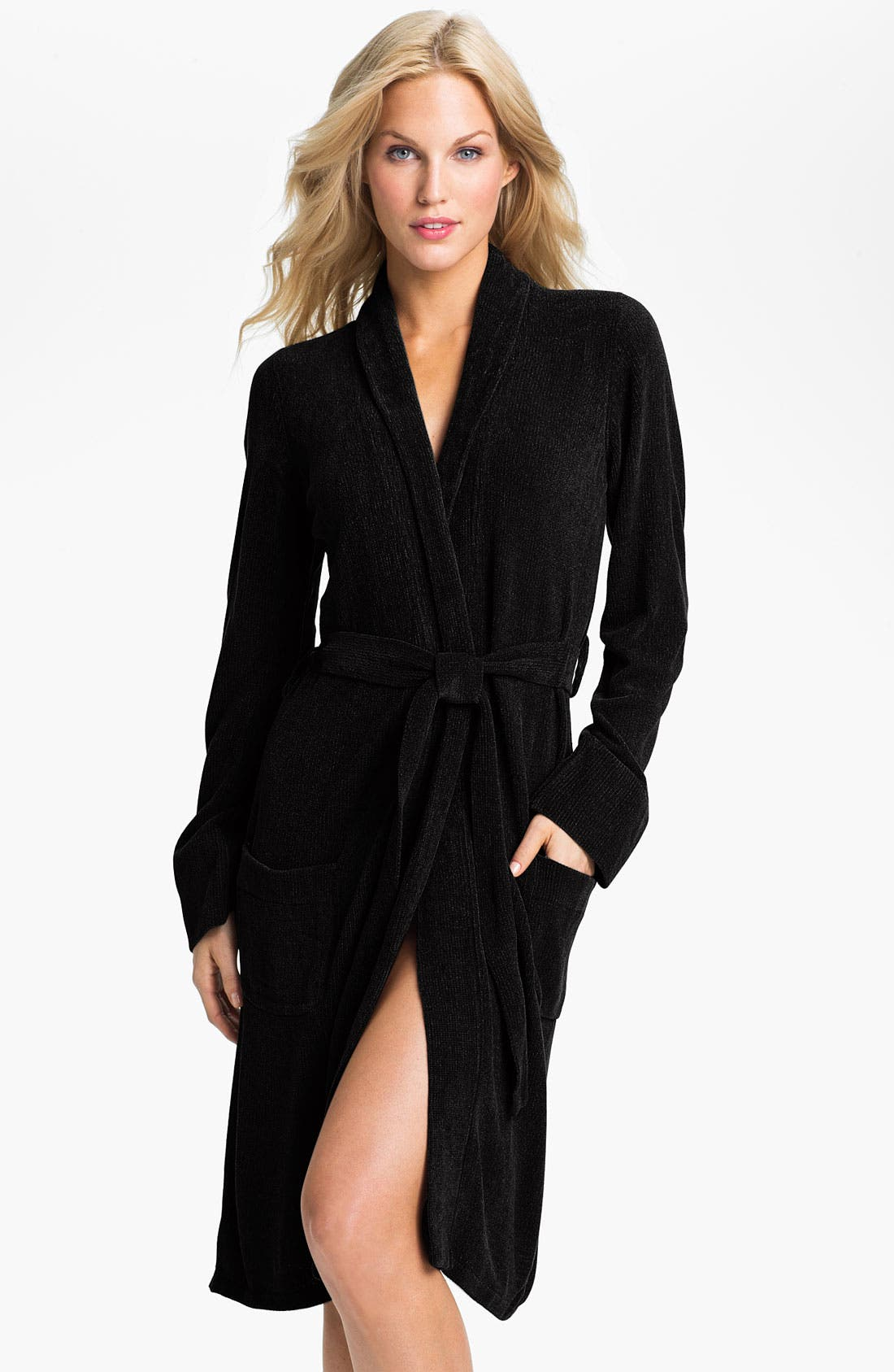 Alternate Image 1 Selected - PJ Luxe Chenille Robe