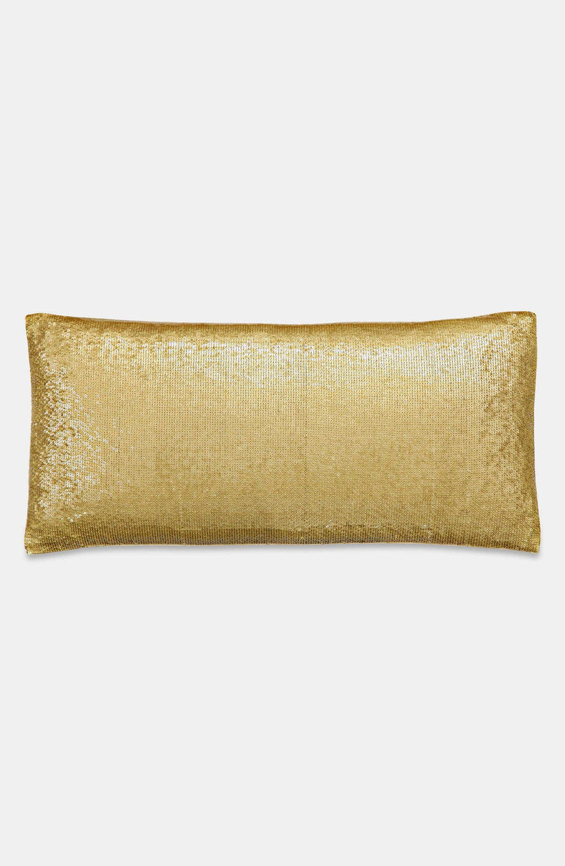 Alternate Image 1 Selected - Donna Karan 'Shimmering Light' Silk & Sequin Pillow (Online Only)