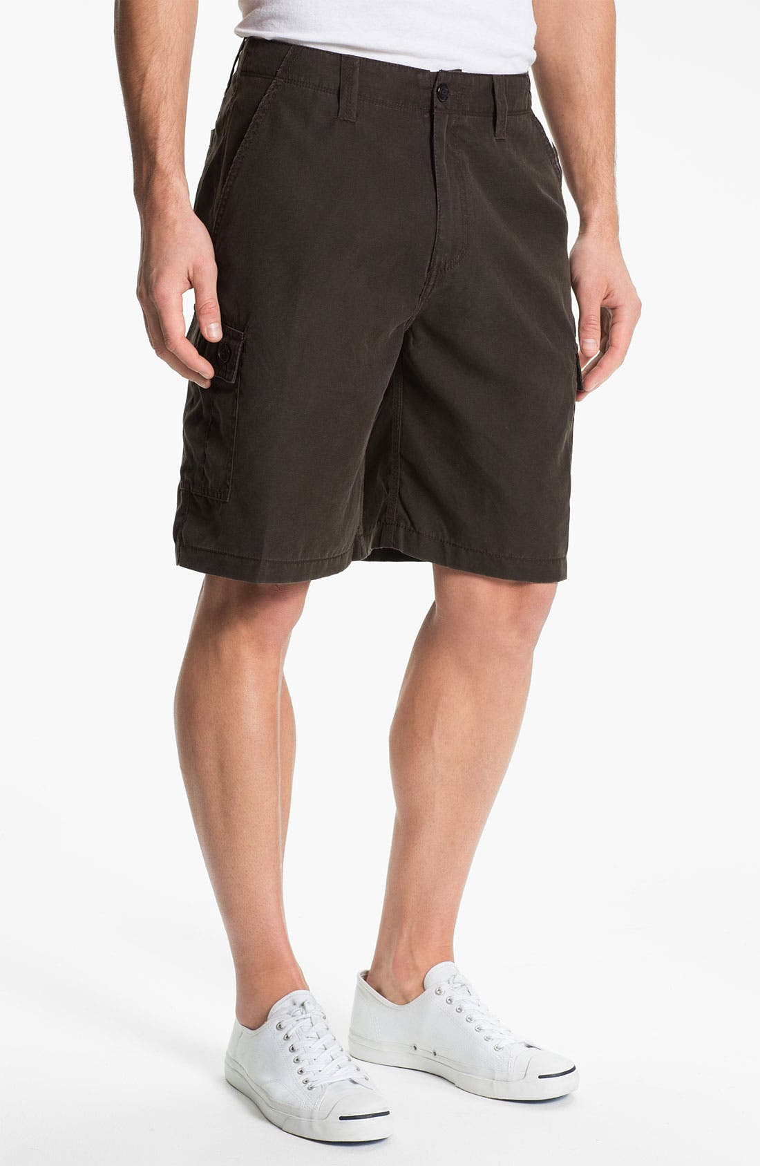 Alternate Image 1 Selected - Toes on the Nose 'Journey' Flat Front Shorts