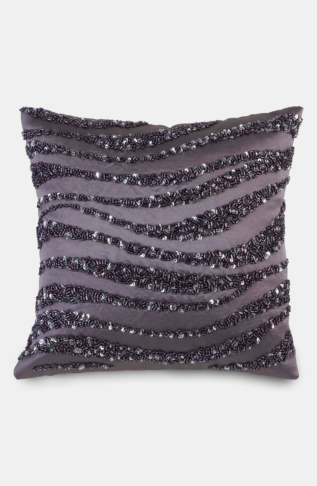 Alternate Image 1 Selected - Donna Karan 'Crystal Wave' Silk Pillow (Online Only)