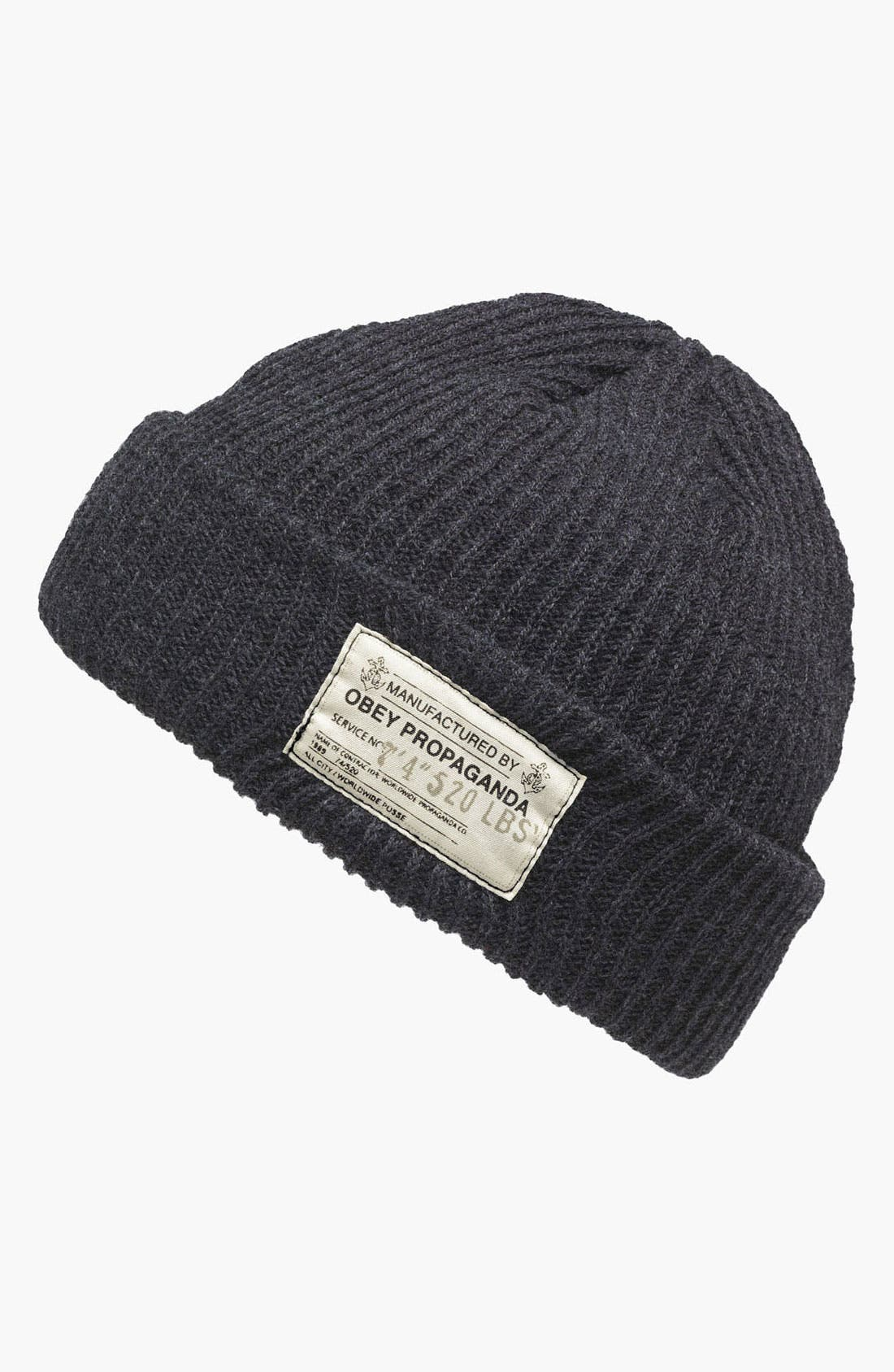 Main Image - Obey 'Draft' Knit Cap