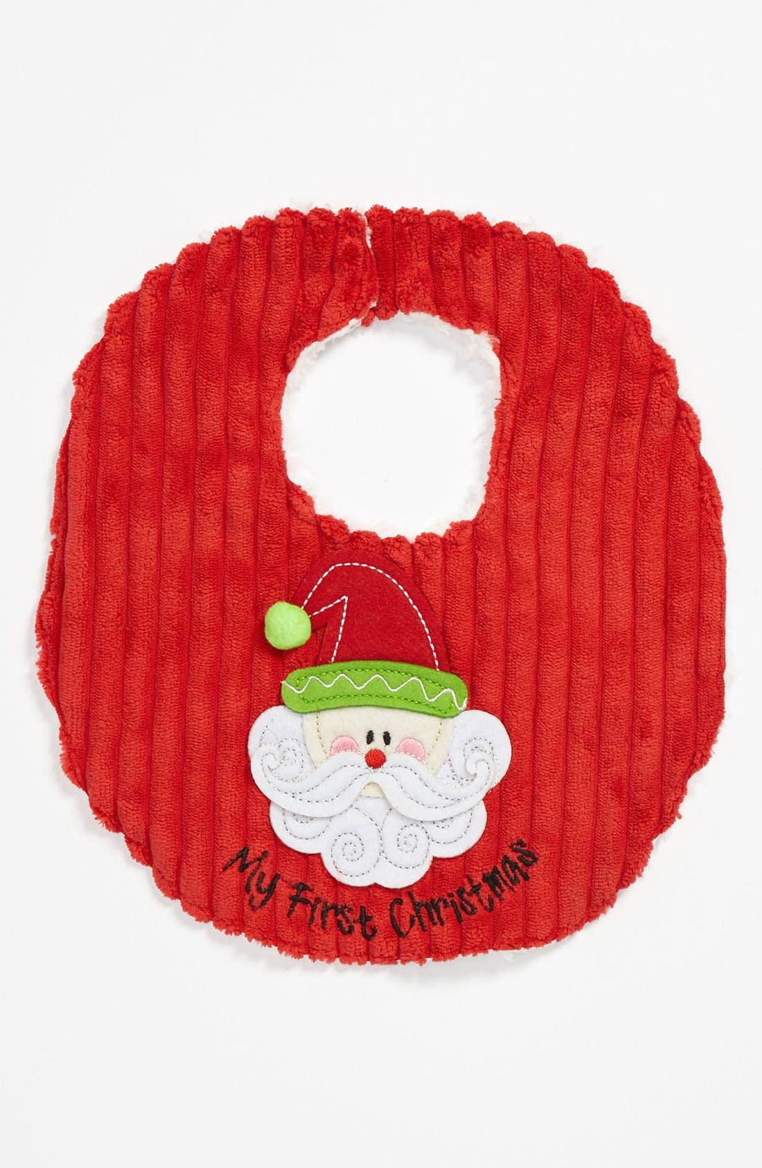 Main Image - Mud Pie 'My First Christmas' Bib