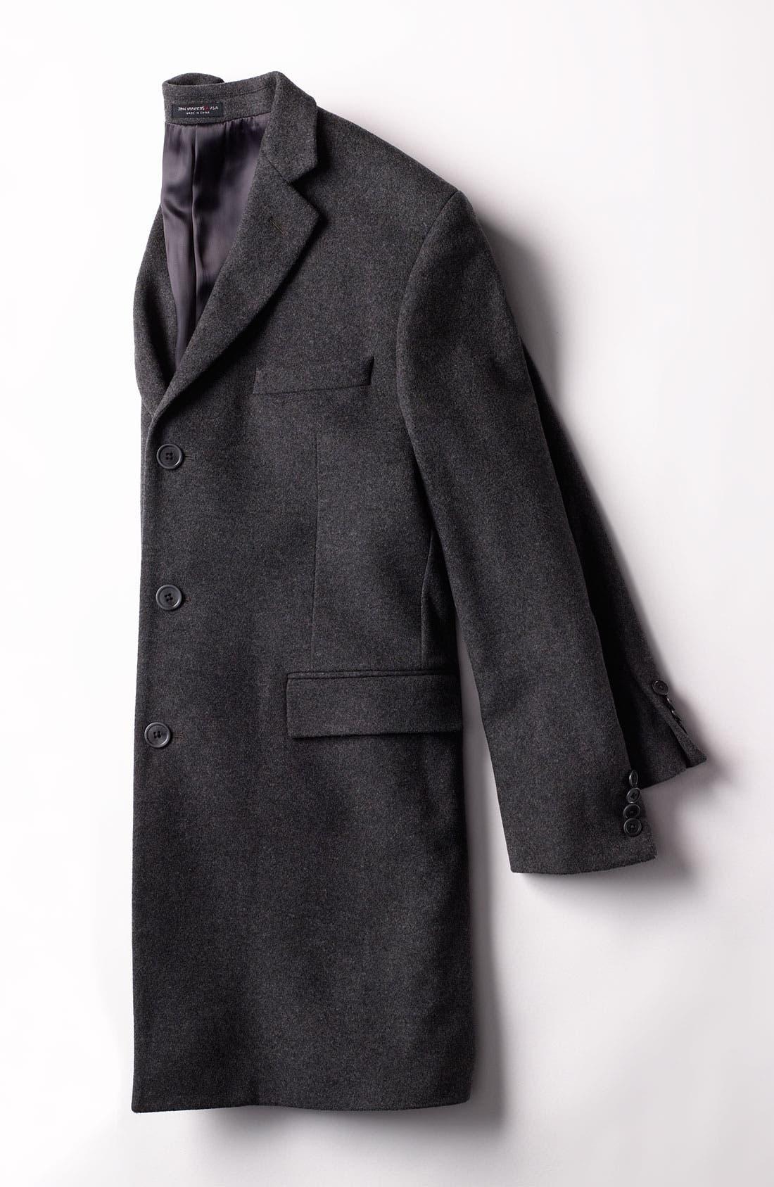 Alternate Image 4  - John Varvatos Star USA 'Newton' Top Coat