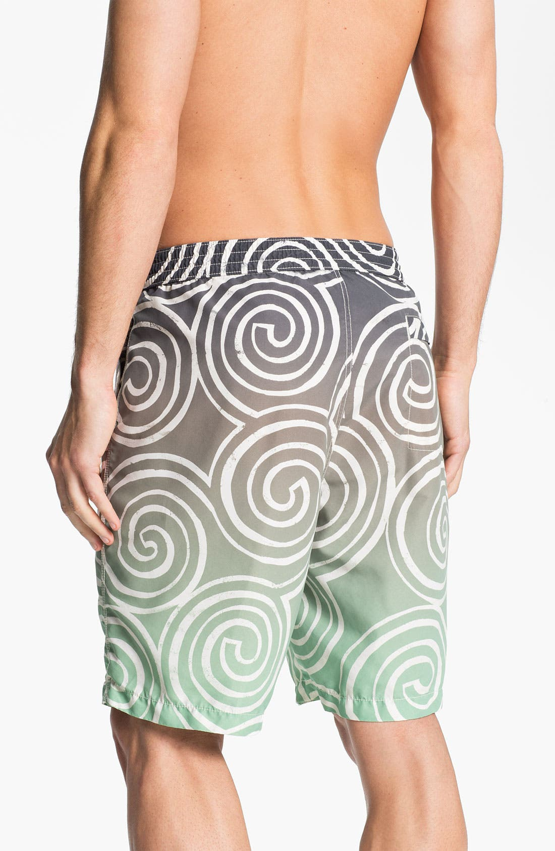 Alternate Image 2  - Tommy Bahama Relax 'St. Lucia Swirl' Swim Trunks (Online Exclusive)