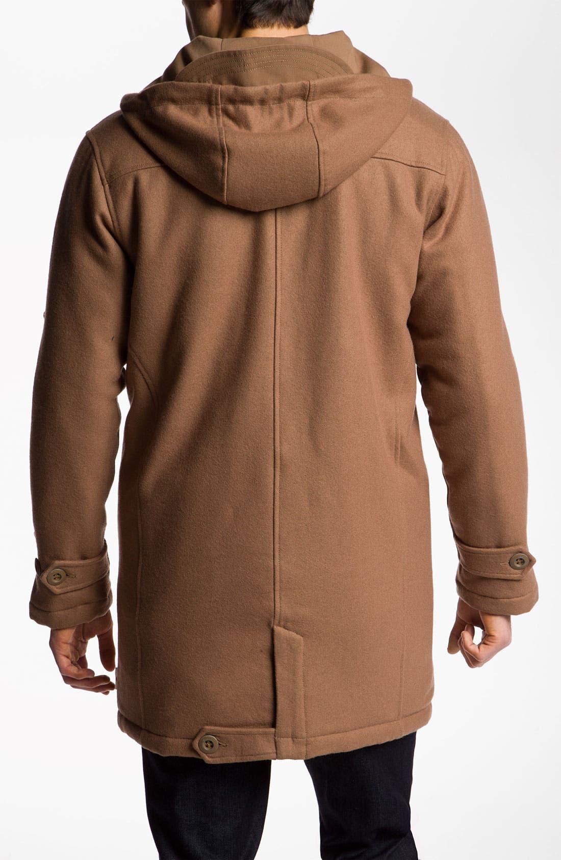 Alternate Image 2  - Marshall Artist Wool Blend Duffle Coat