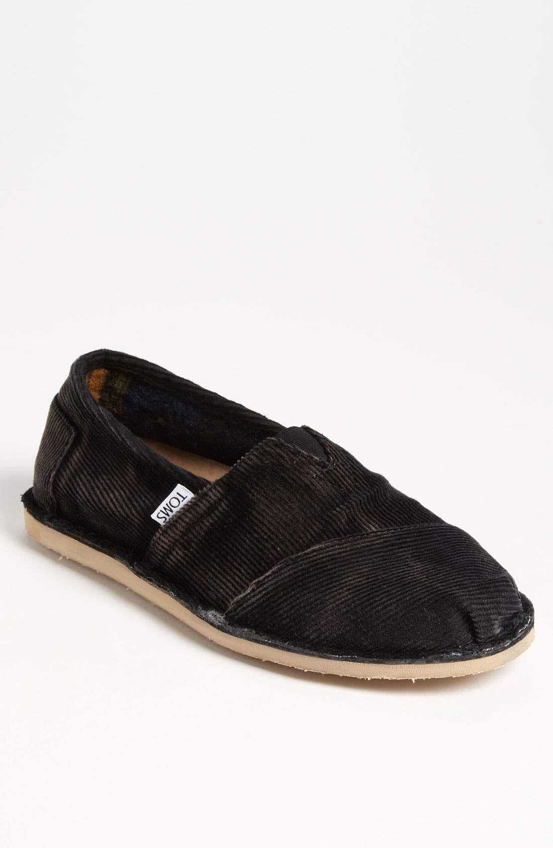 Alternate Image 1 Selected - TOMS 'Stitchout' Stonewash Corduroy Slip-On (Men)