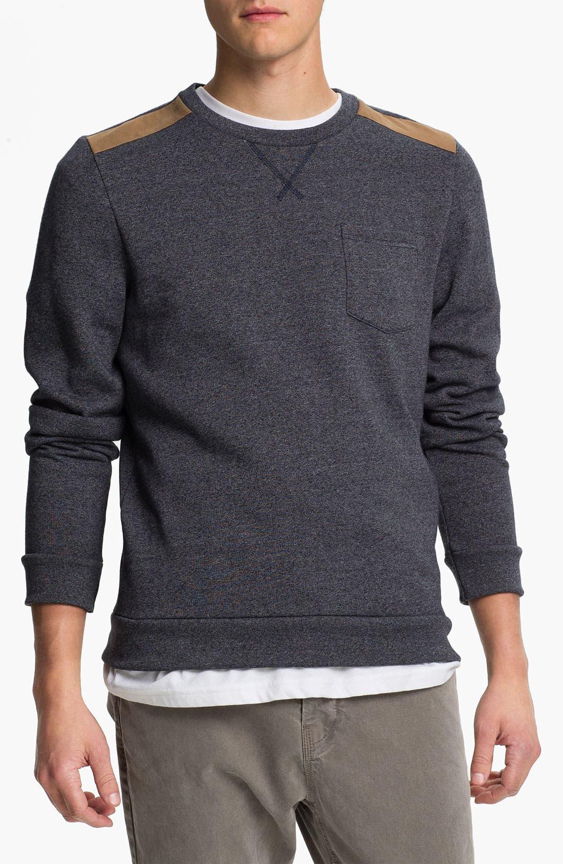 Main Image - Topman 'Borg' Sweatshirt