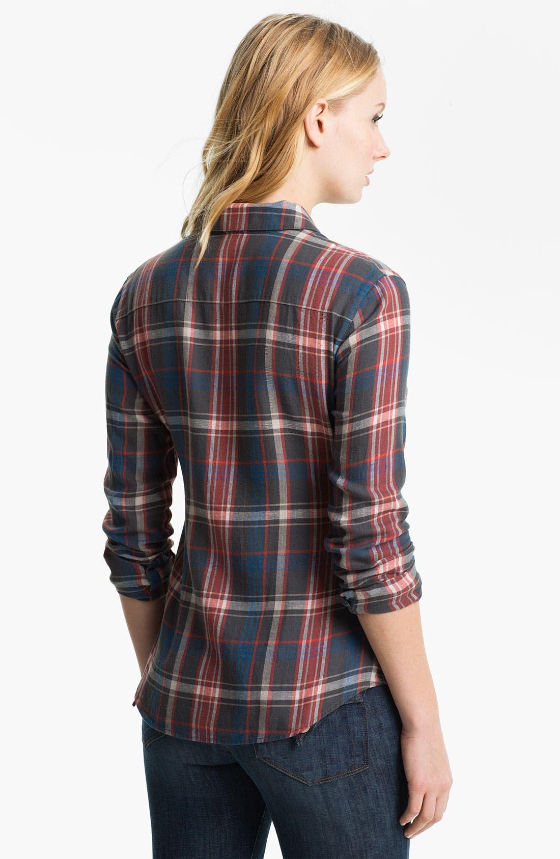 Alternate Image 2  - James Perse 'Harbor' Plaid Shirt