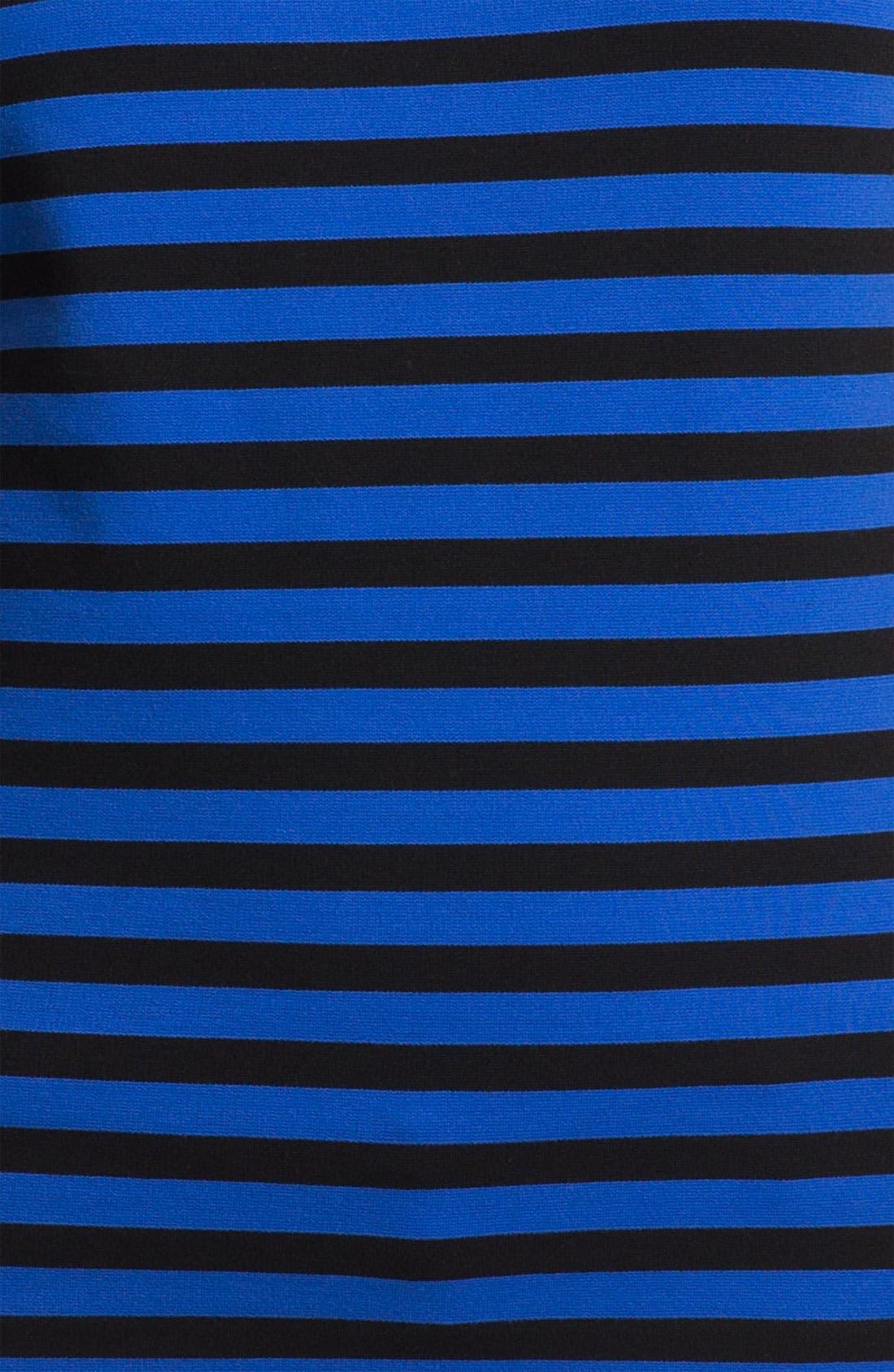 Alternate Image 3  - MICHAEL Michael Kors Short Sleeve Stripe Top