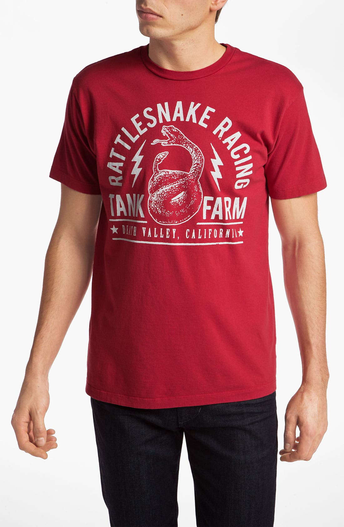 Alternate Image 1 Selected - Tankfarm 'Rattlesnake Racing' Graphic T-Shirt