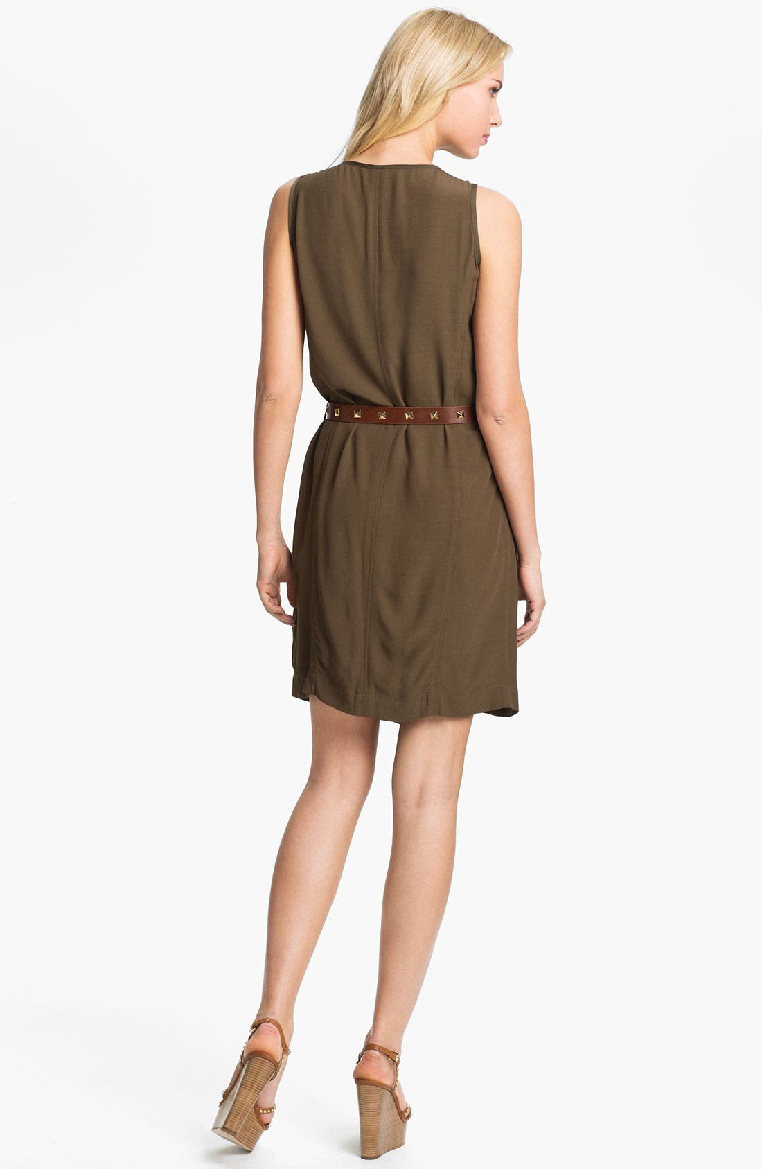 Alternate Image 2  - MICHAEL Michael Kors Cargo Dress