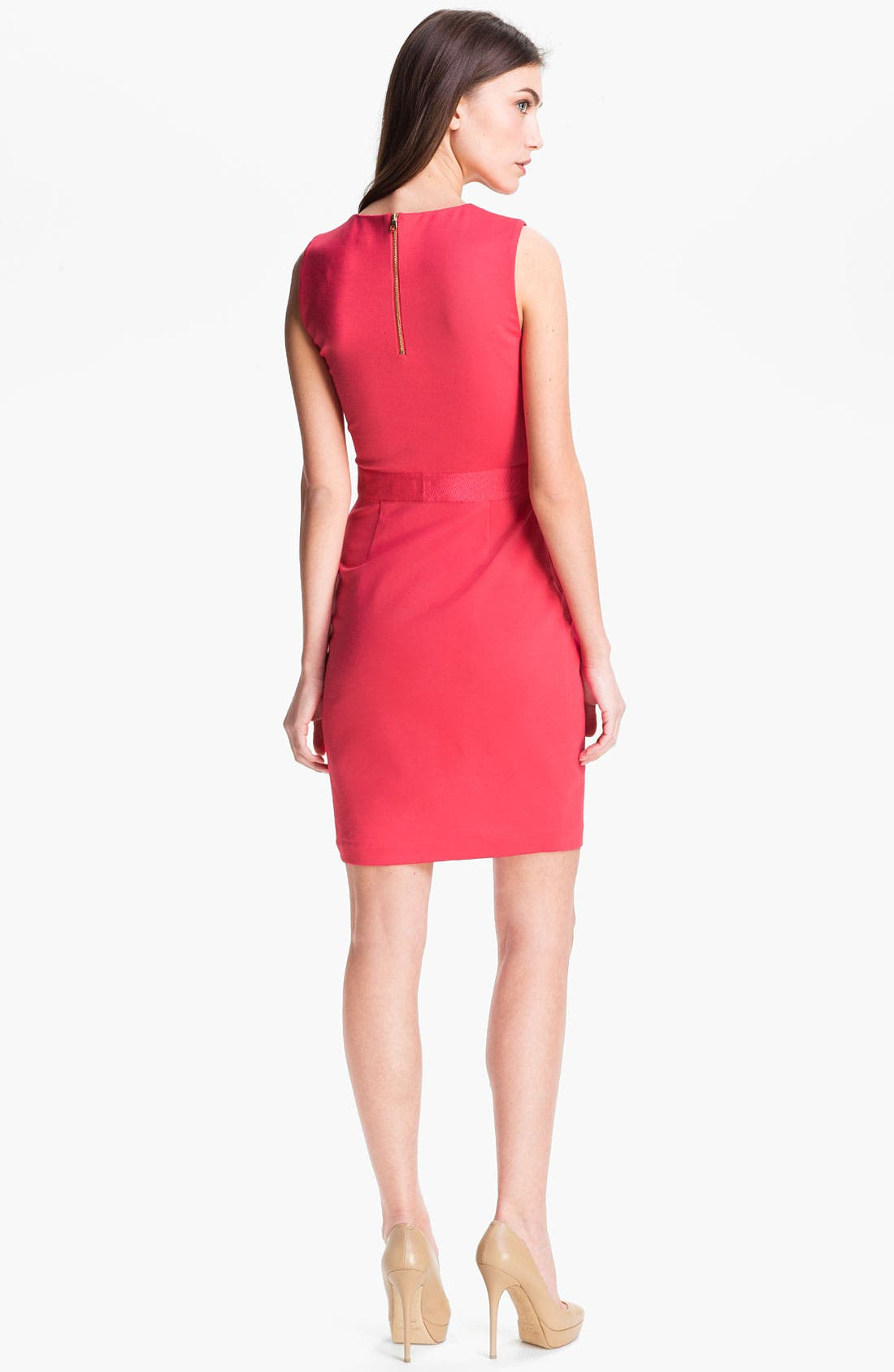Alternate Image 2  - Ted Baker London Stretch Knit Sheath Dress