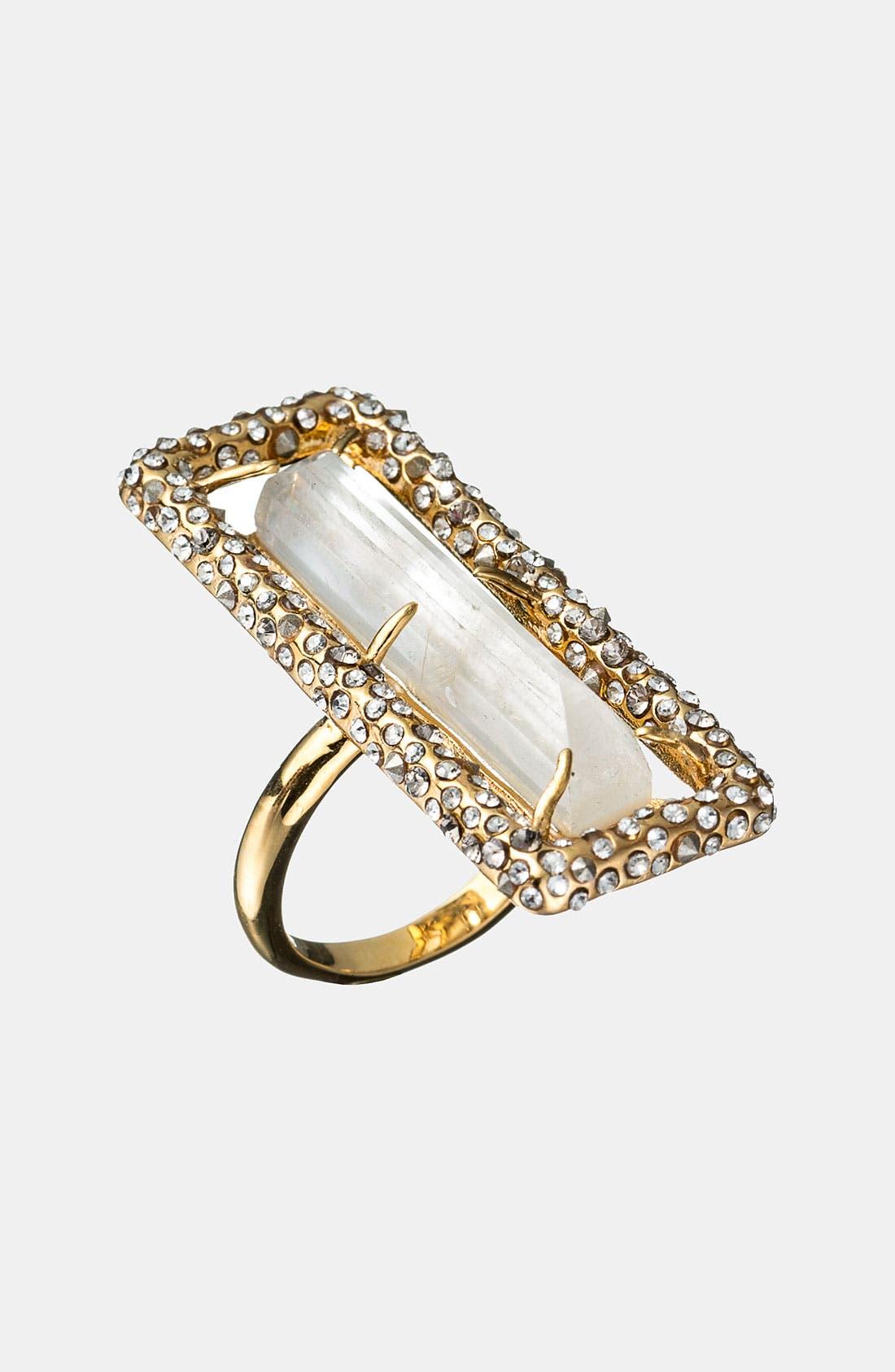 Alternate Image 1 Selected - Alexis Bittar 'Miss Havisham - Bel Air' Baguette Ring