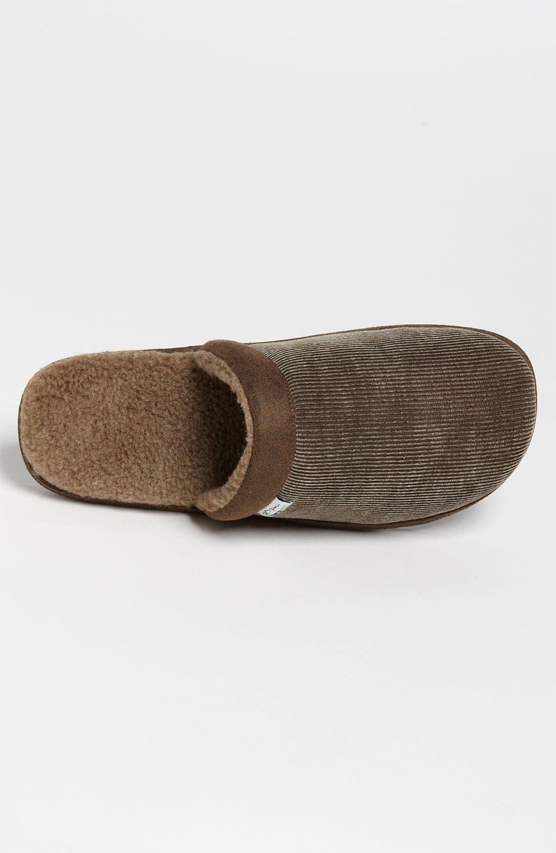 Alternate Image 3  - Tempur-Pedic® 'Corduroy Scuff' Slipper