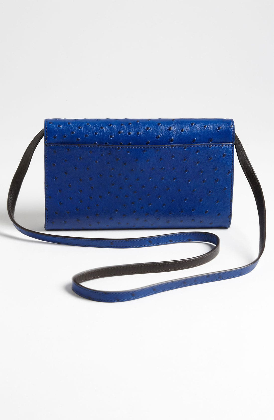 Alternate Image 4  - Michael Kors 'Gia' Ostrich Embossed Clutch
