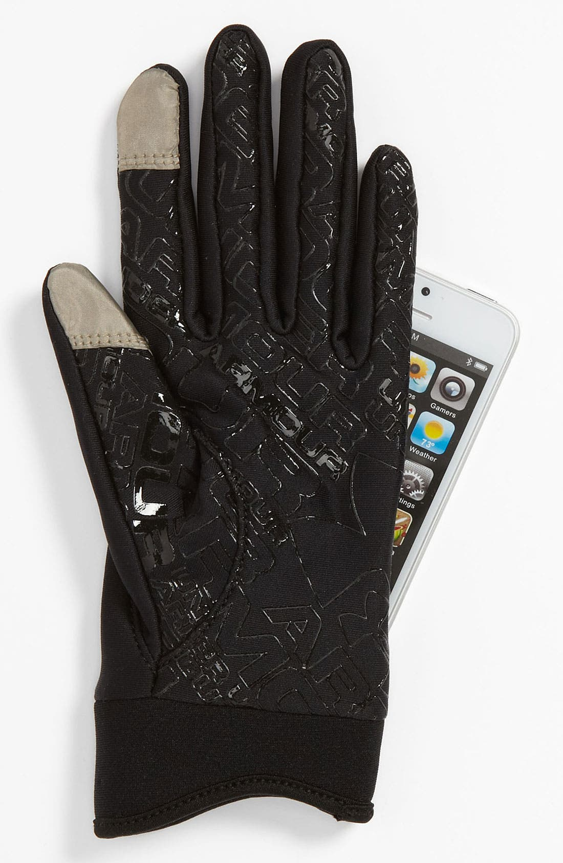 Alternate Image 2  - Under Armour ColdGear® Tech Gloves