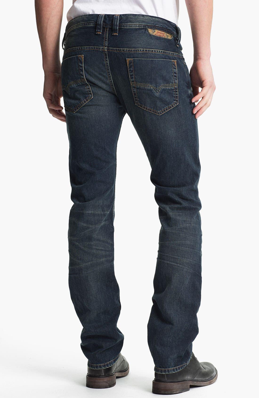 Alternate Image 1 Selected - DIESEL® 'Safado' Straight Leg Jeans (0807U)
