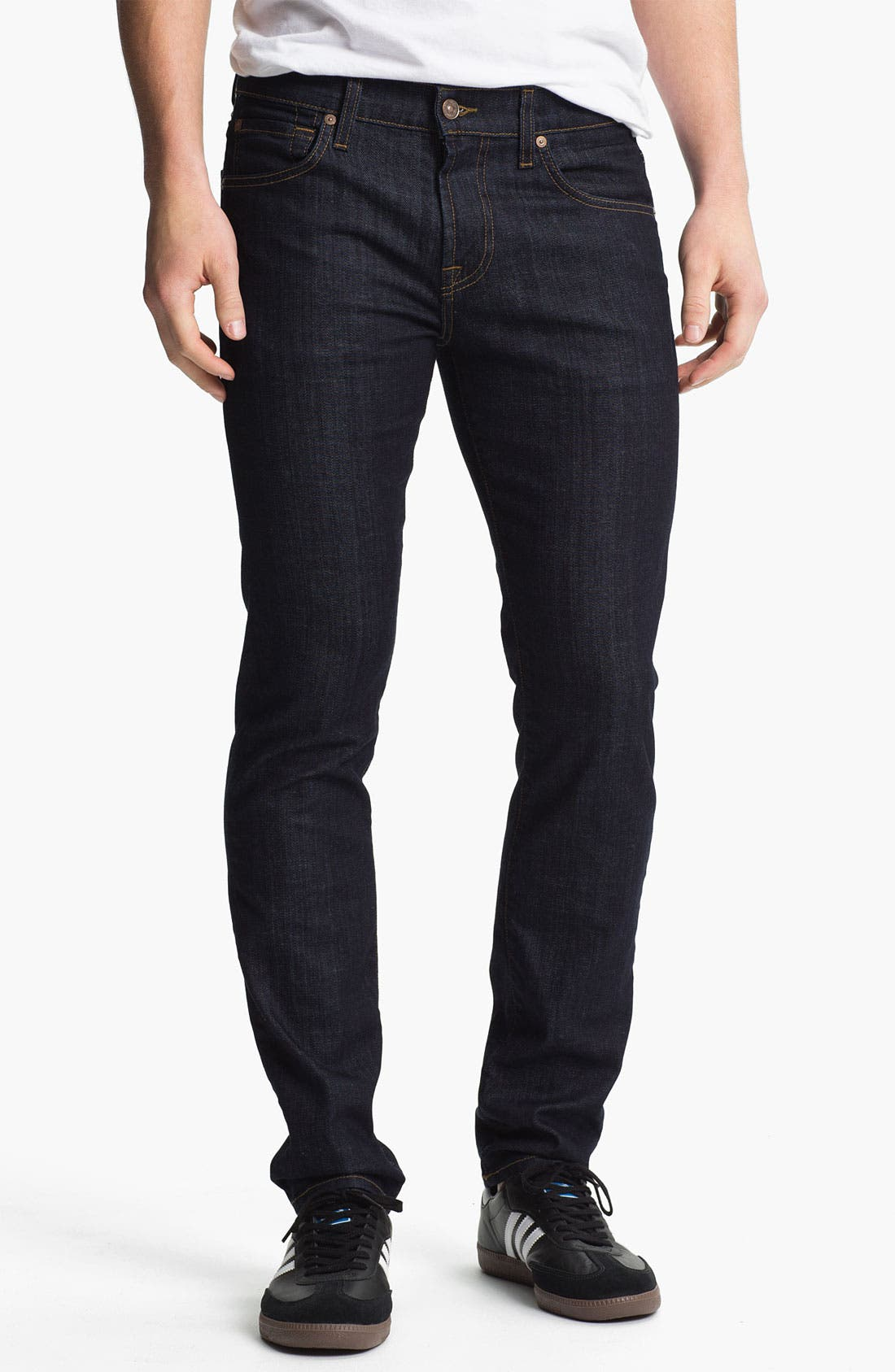 Main Image - 7 For All Mankind® 'Paxtyn' Skinny Fit Jeans (Dark & Clean)