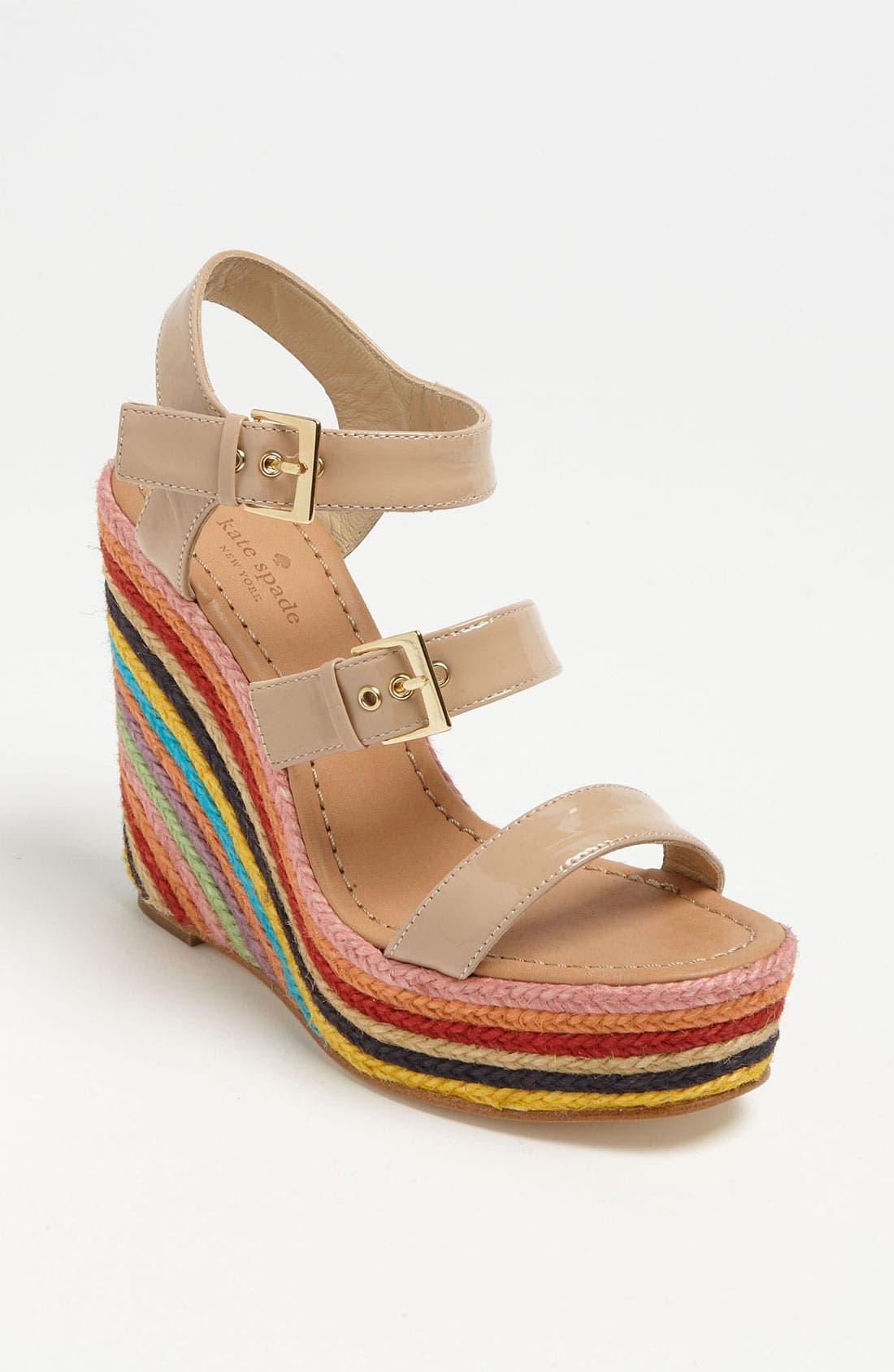 Main Image - kate spade new york 'lucie' espadrille sandal