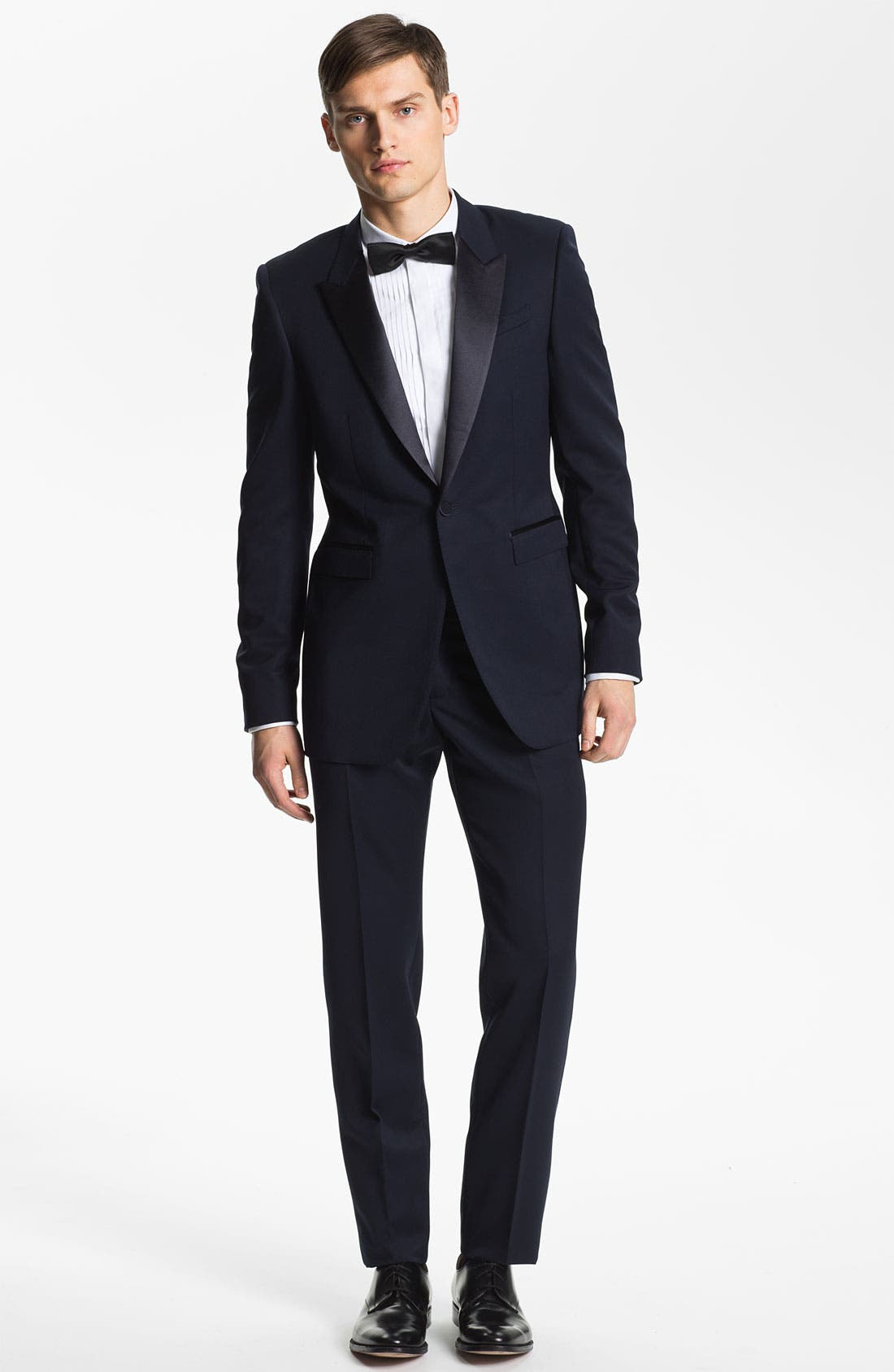 Alternate Image 4  - Burberry Prorsum Wool Tuxedo Pants