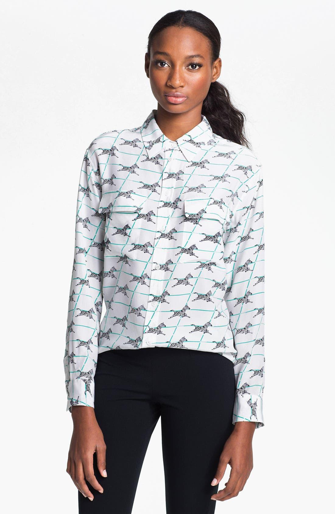 Alternate Image 1 Selected - Equipment 'Signature' Silk Shirt