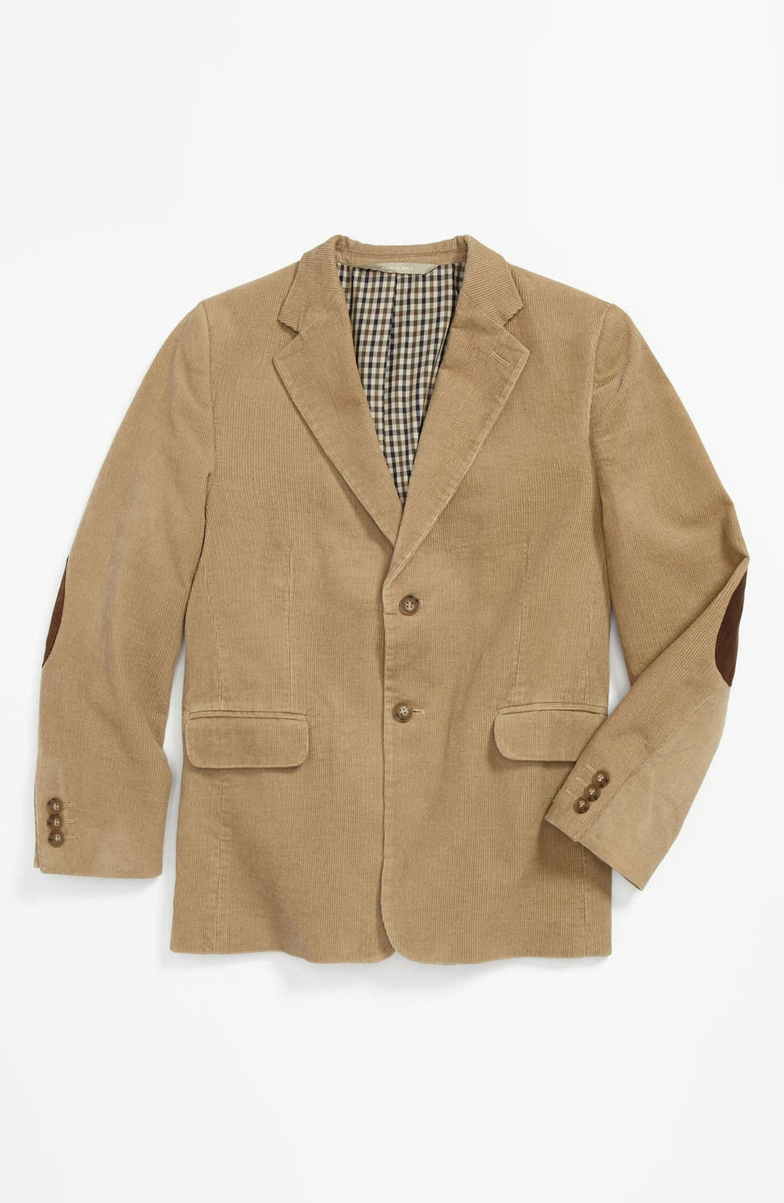 Alternate Image 1 Selected - Nordstrom 'Charlie' Corduroy Blazer (Big Boys)