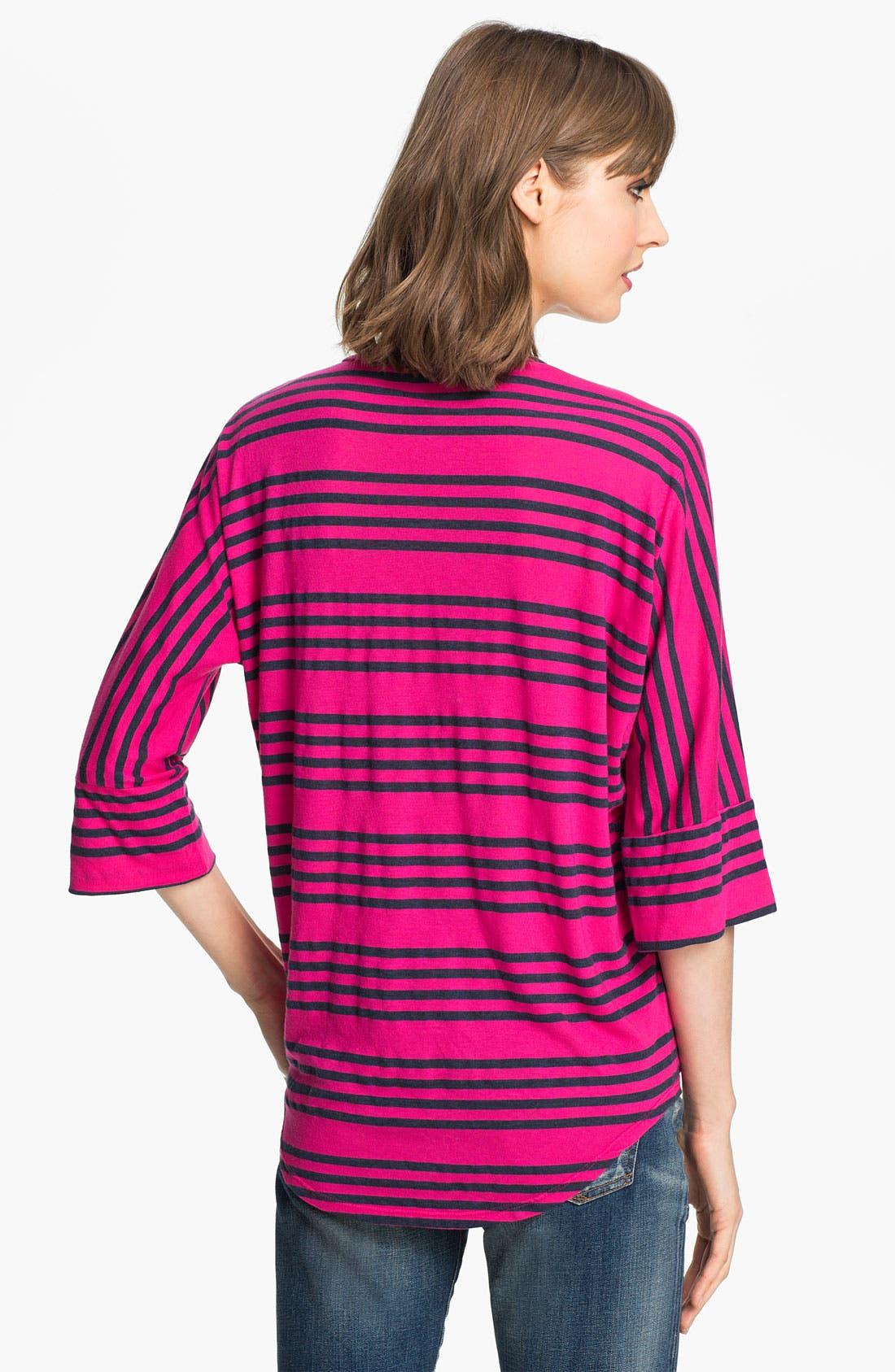 Alternate Image 2  - Splendid 'Capri' Stripe Drop Shoulder Tee