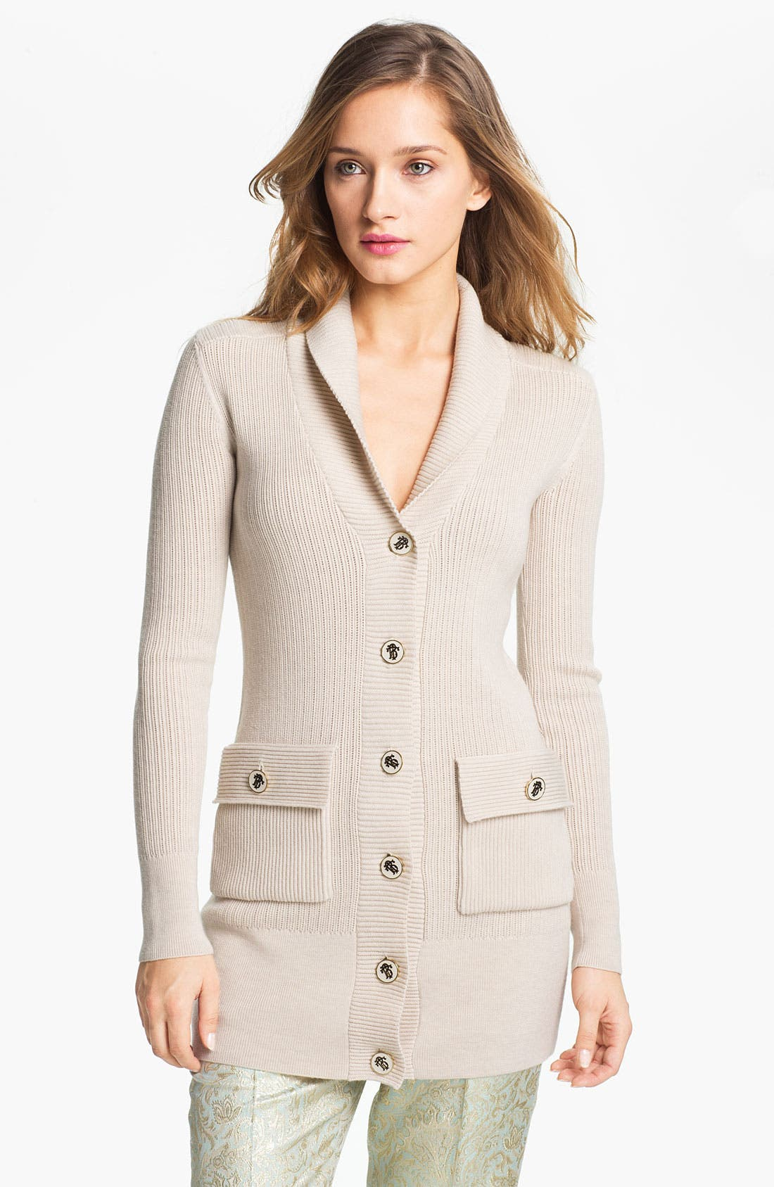 Alternate Image 1 Selected - Tory Burch 'Tania' Cardigan
