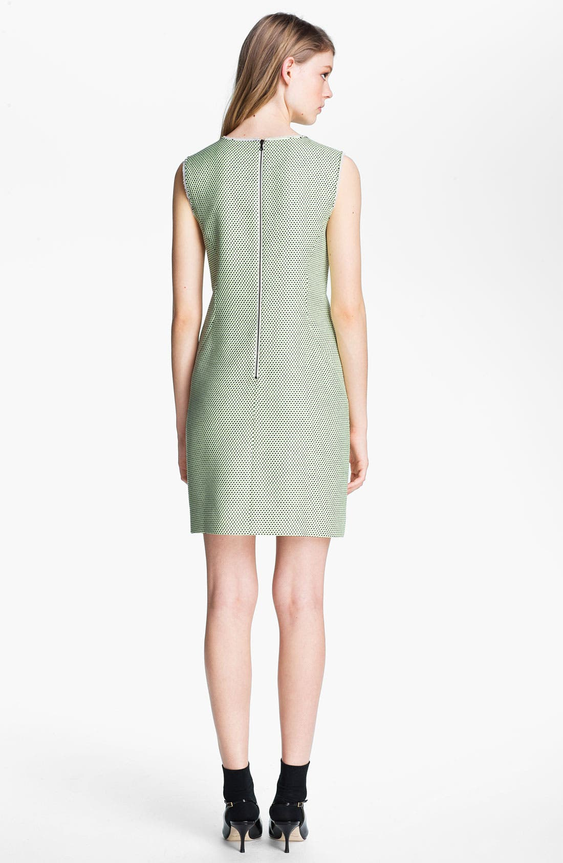 Alternate Image 2  - Miss Wu Modern Weave Shift Dress (Nordstrom Exclusive)