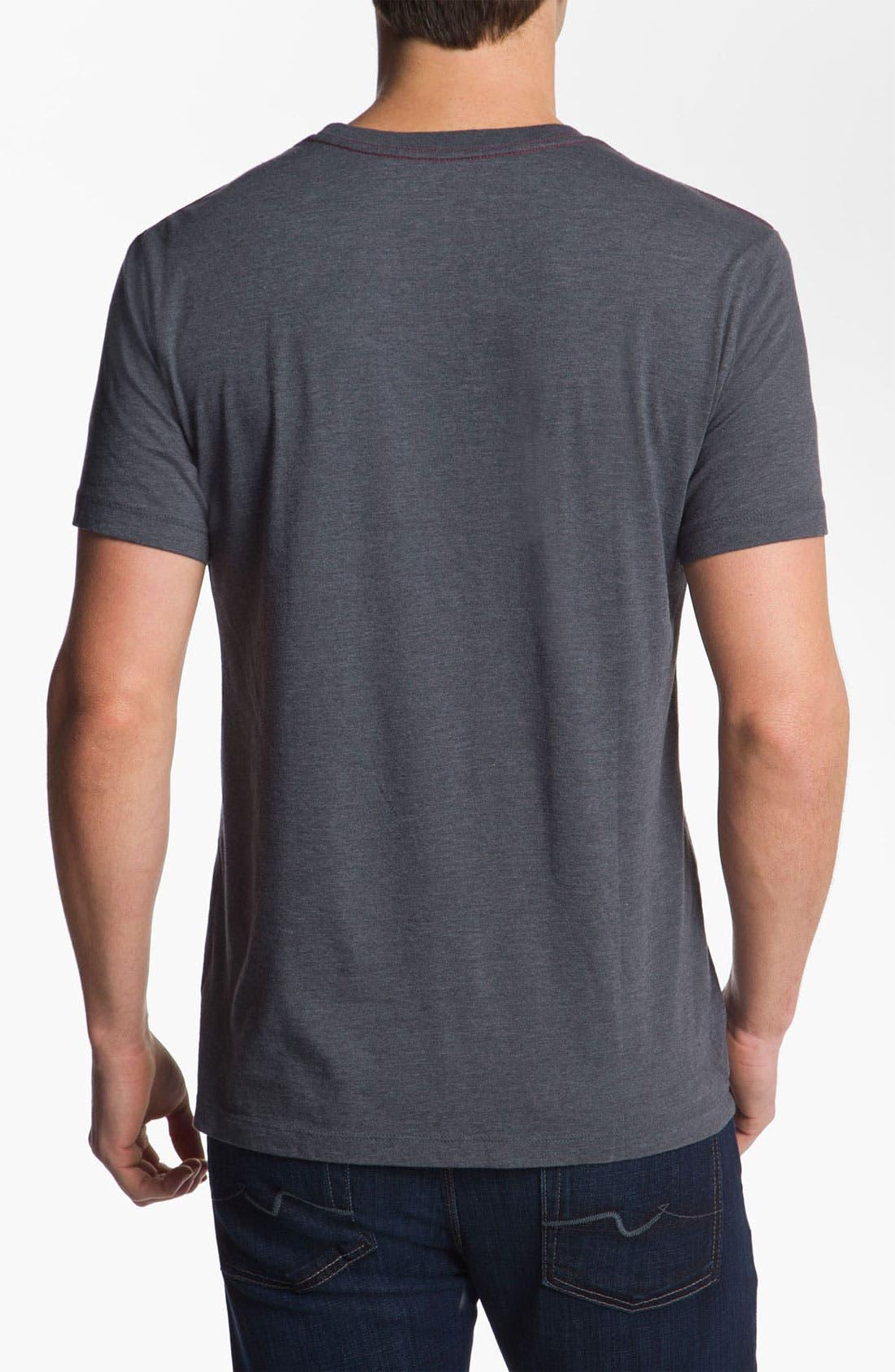 Alternate Image 2  - RVCA 'VA Circles' Vintage Wash T-Shirt